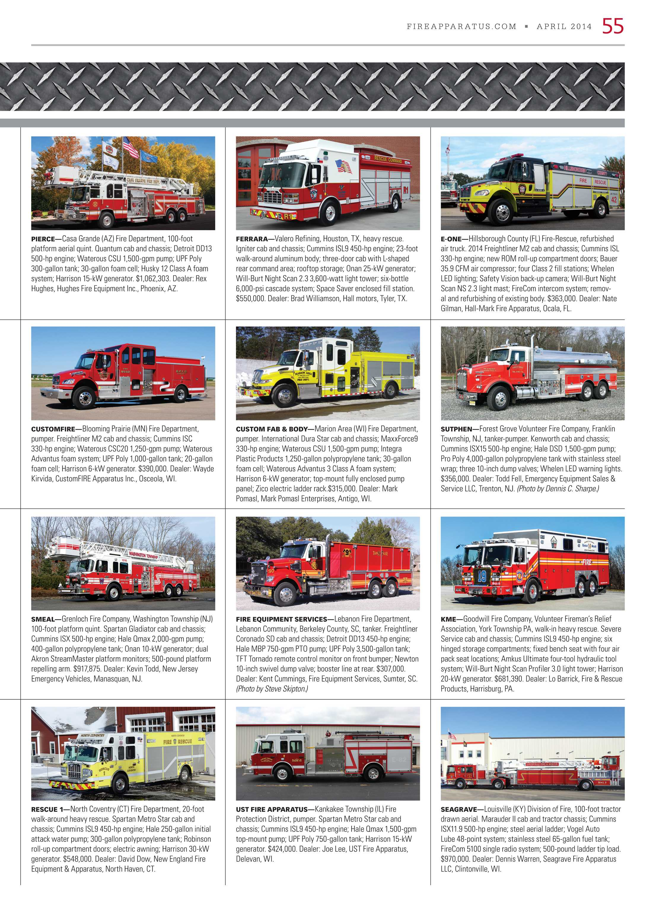 Fire Apparatus Magazine - April 2014 - page 55