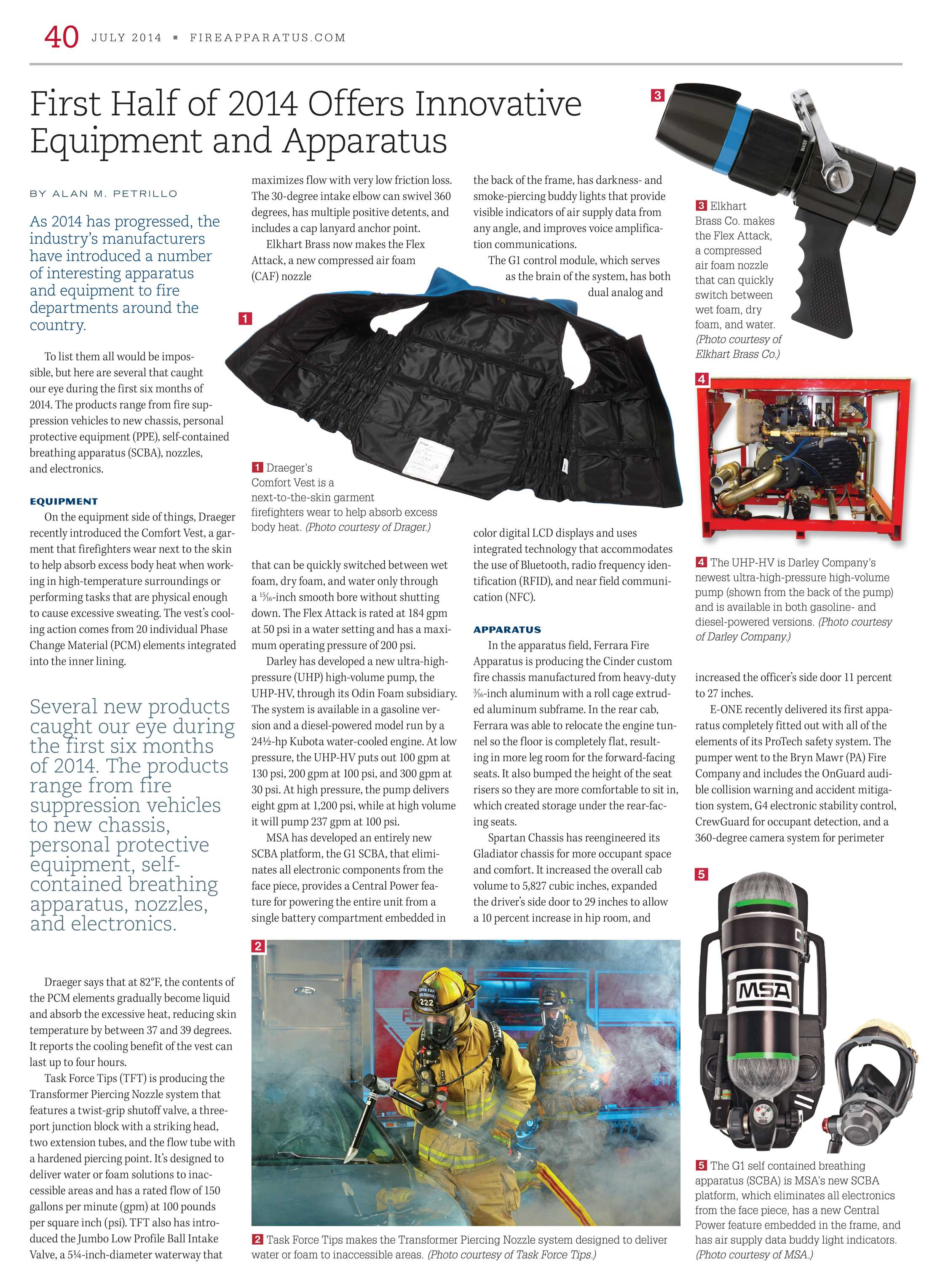 Fire Apparatus Magazine - July 2014 - page 40