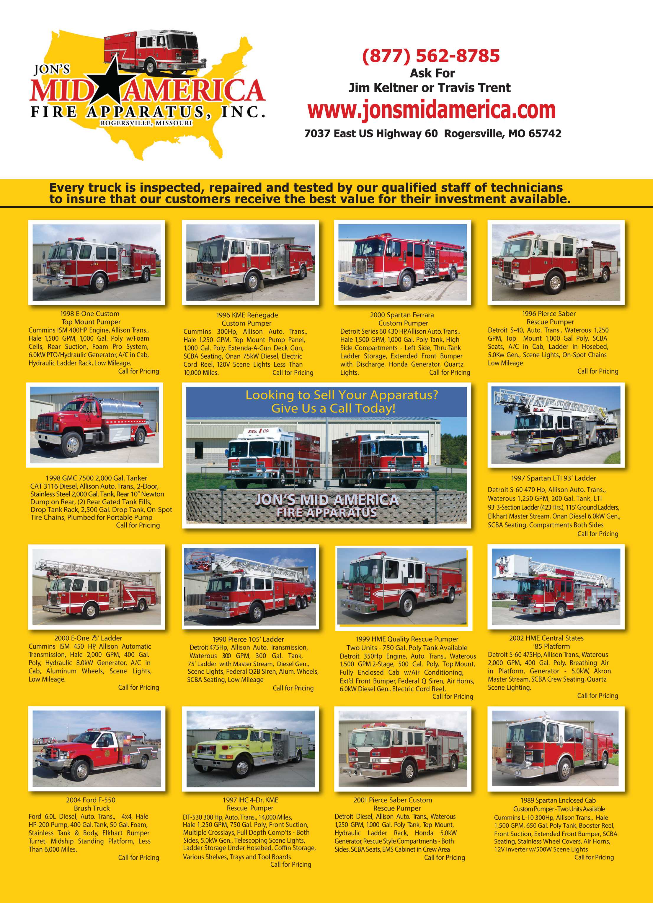Fire Apparatus Magazine - August 2014 - page 59