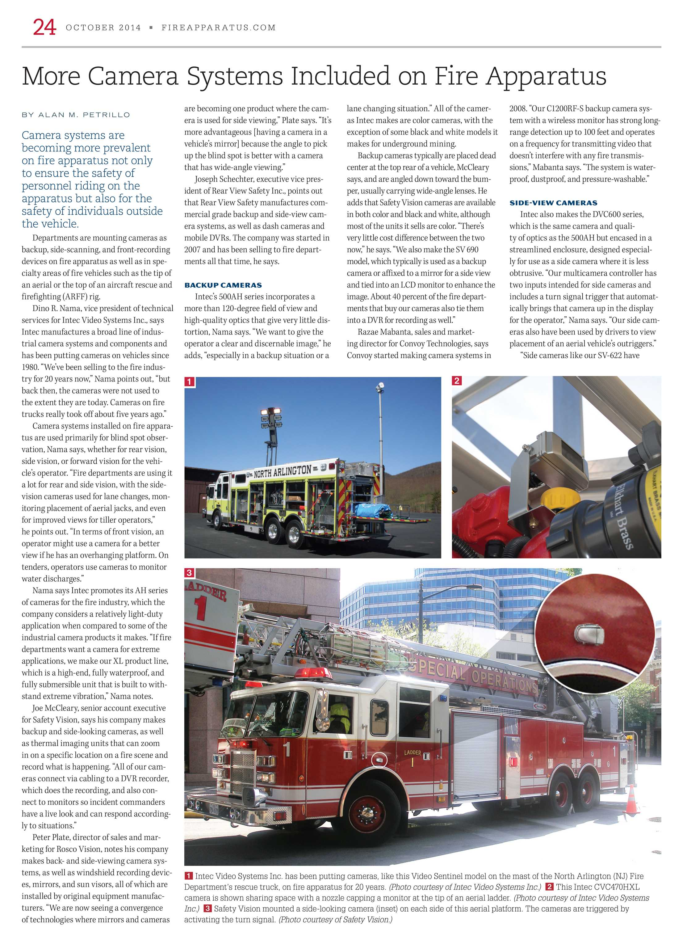 Fire Apparatus Magazine - October 2014 - page 24