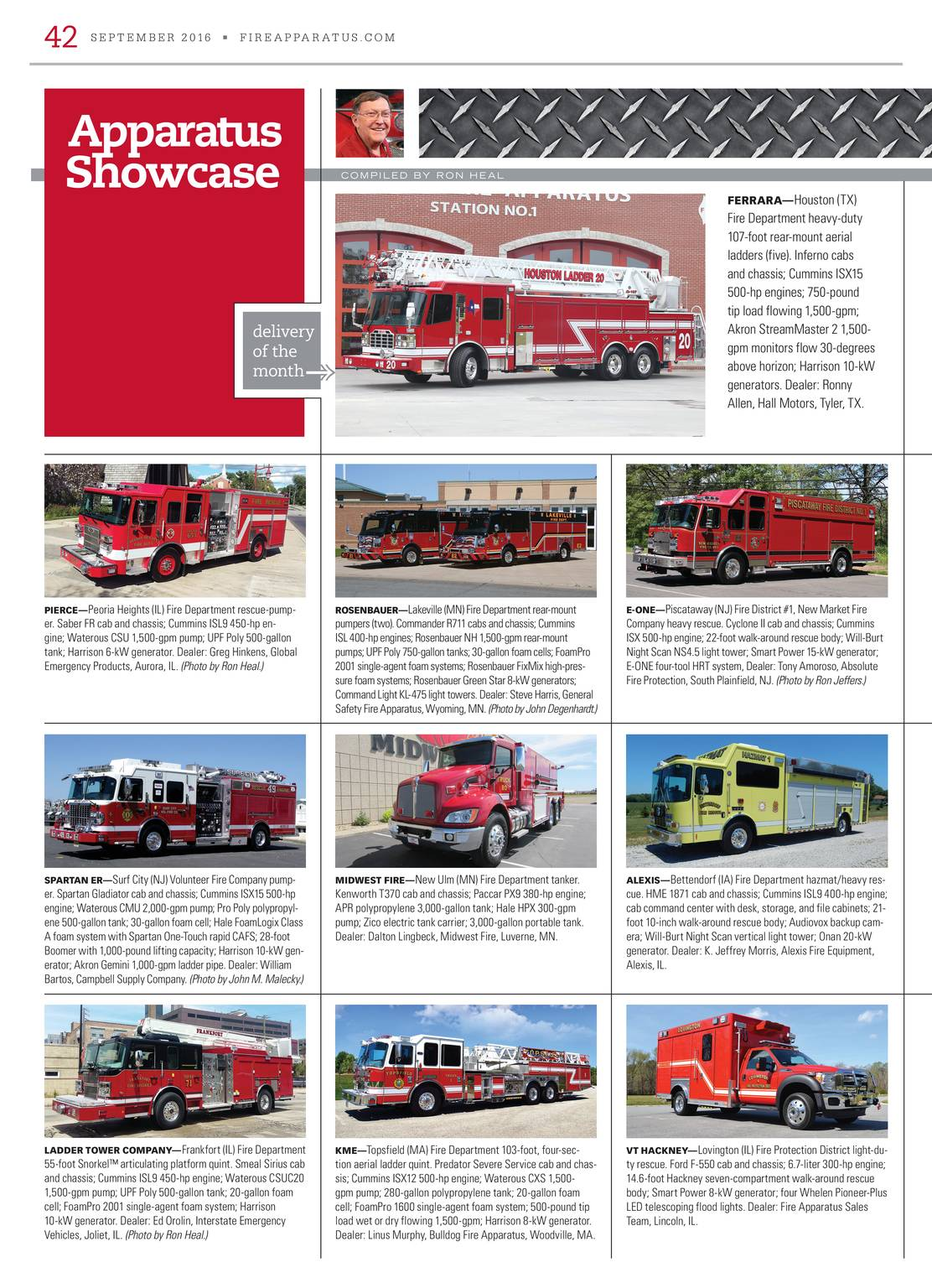 Fire Apparatus Magazine - September 2016 - page 42