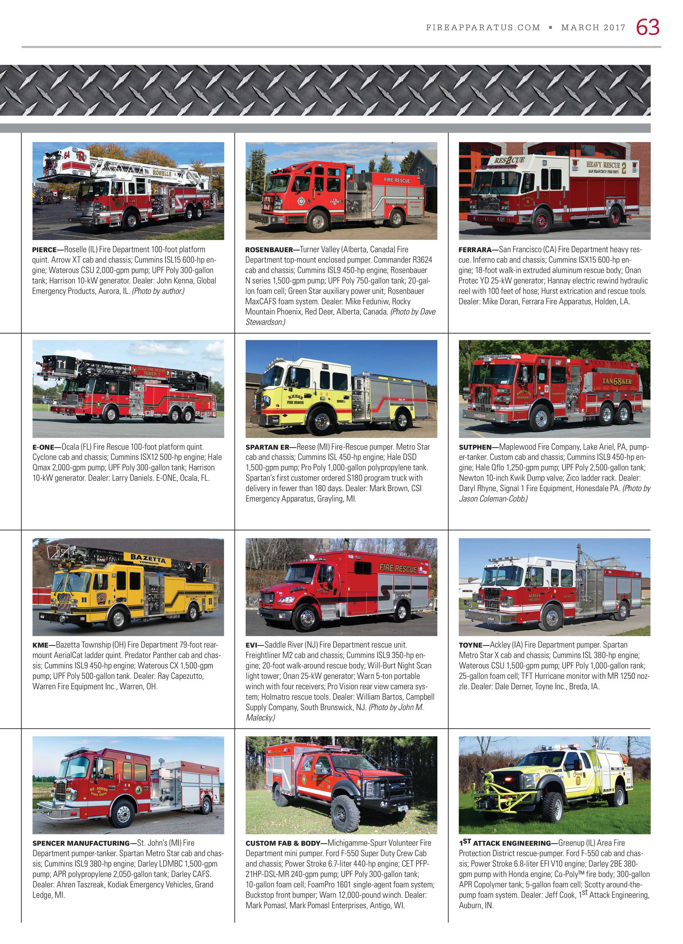 Fire Apparatus Magazine March 2017 Page 63