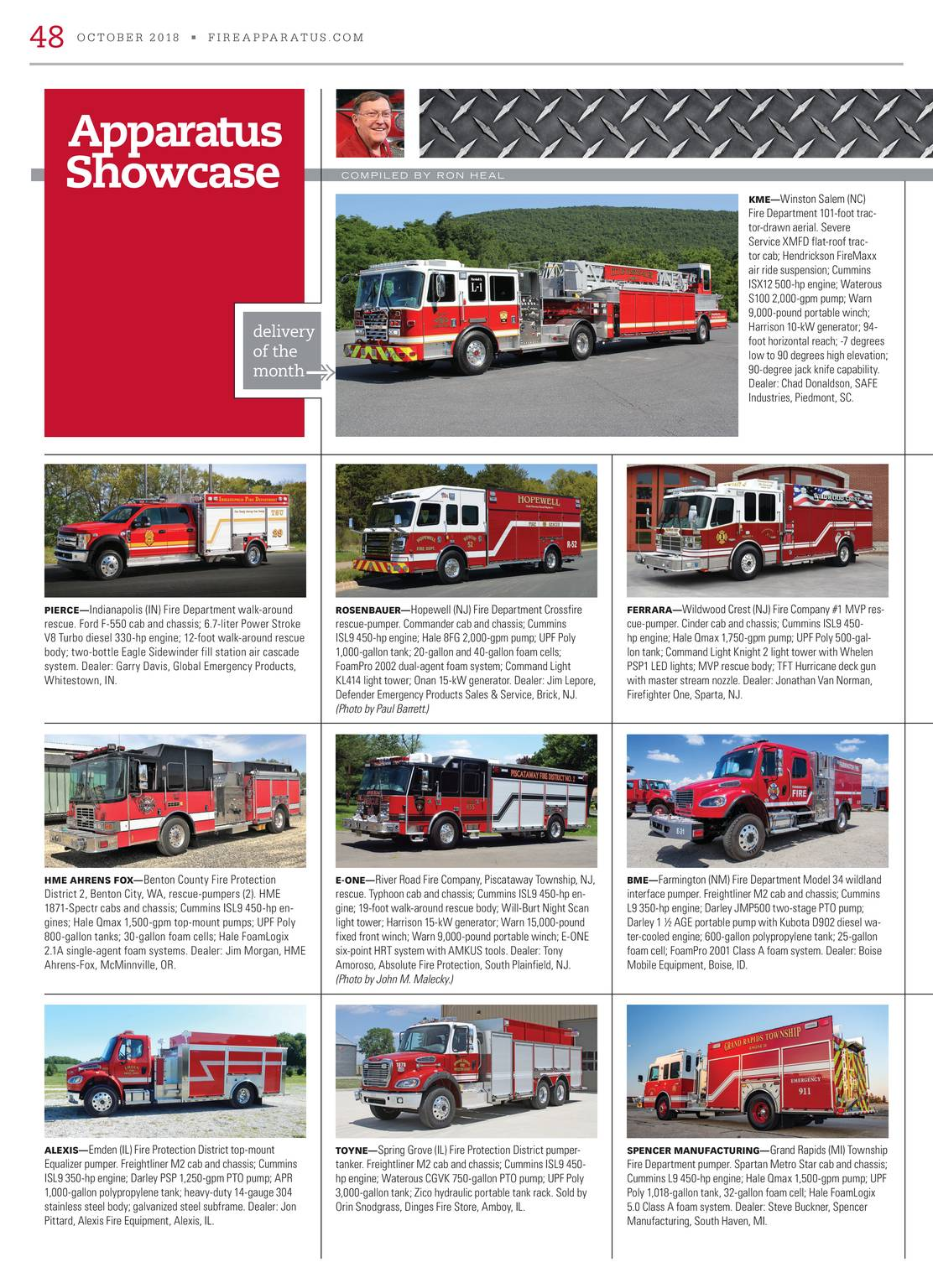 Fire Apparatus Magazine - October 2018 - page 49