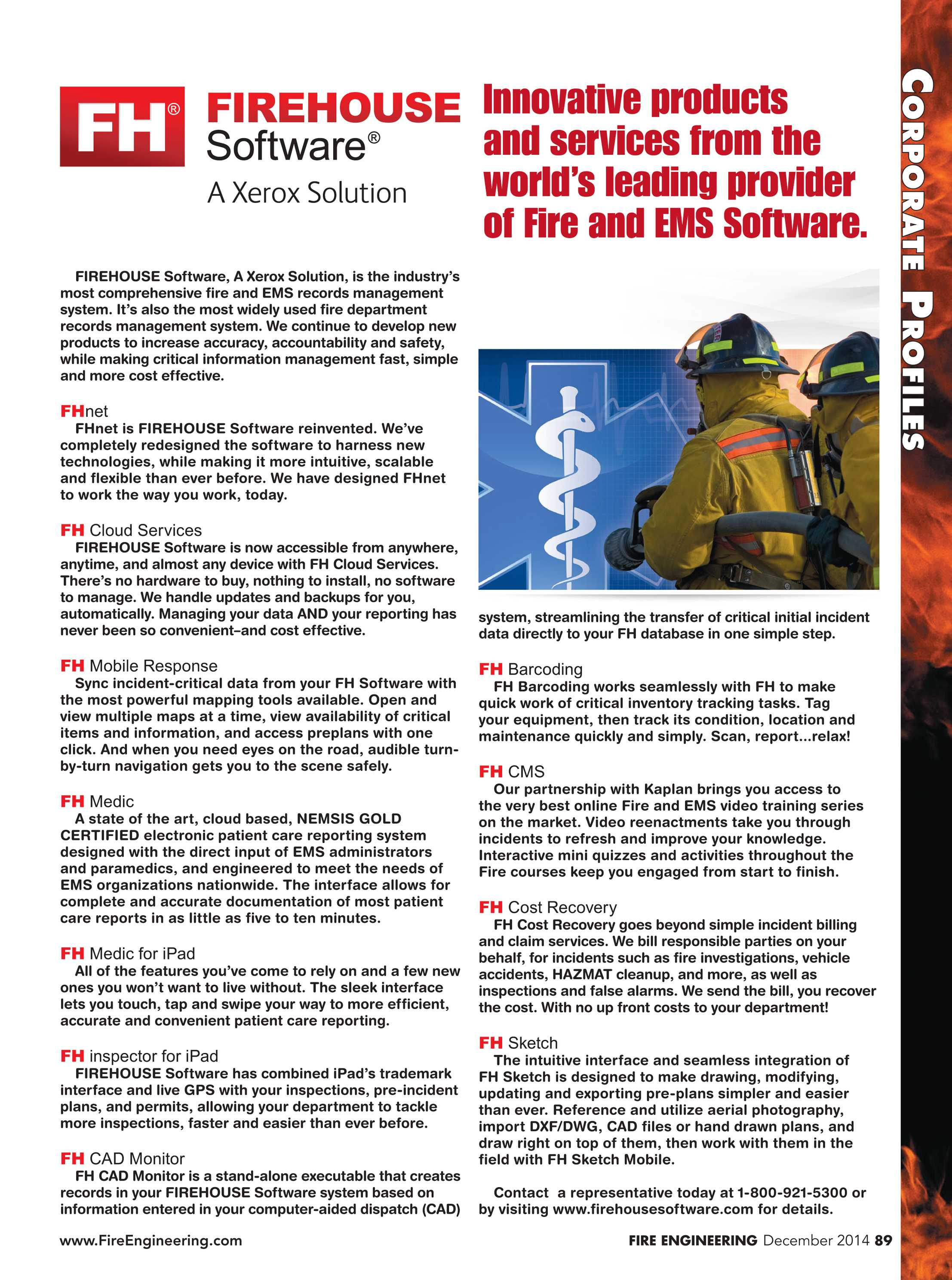 Fire Engineering - December 2014 - page 89