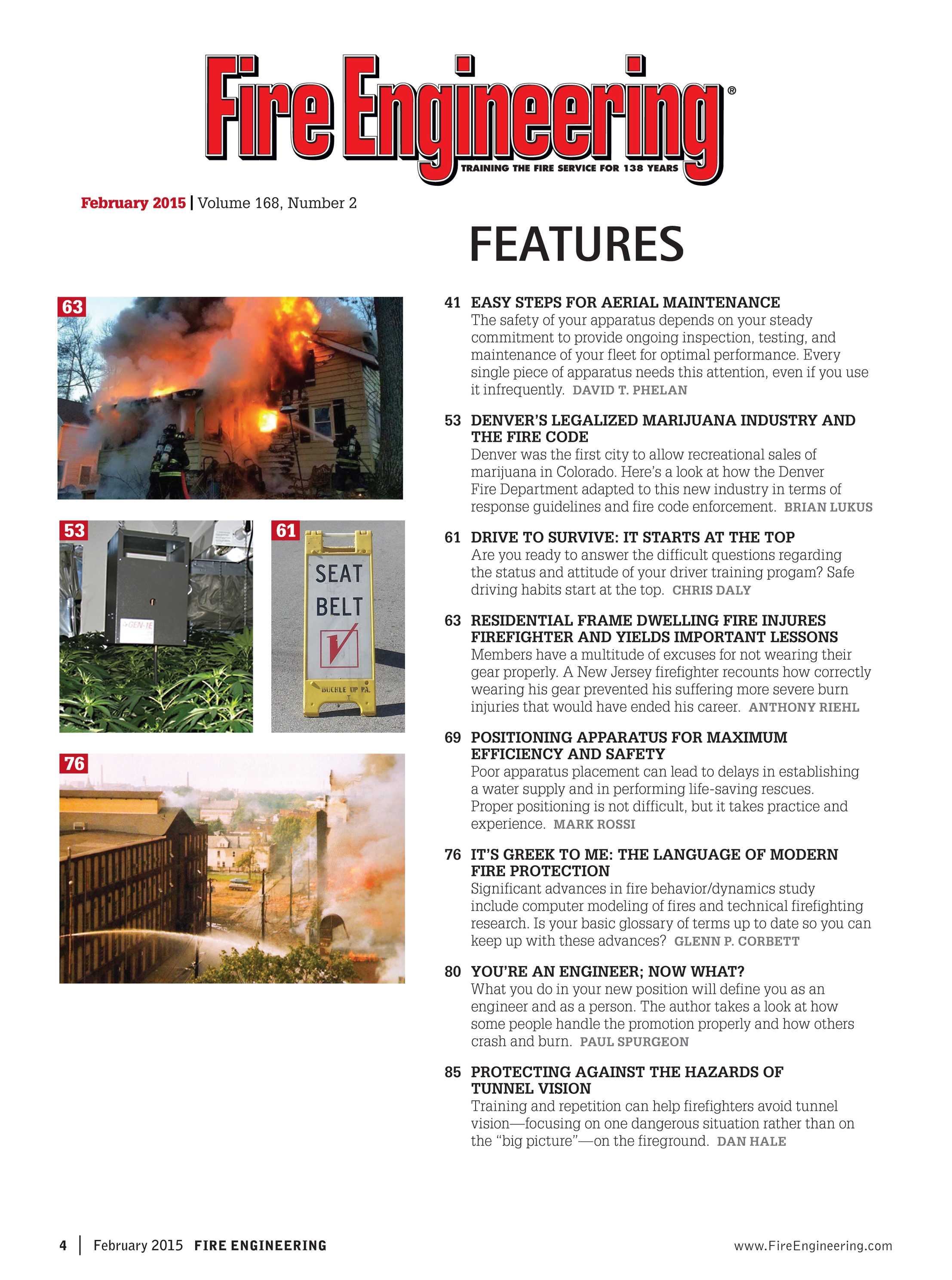 Fire Engineering - February 2015 - page 4