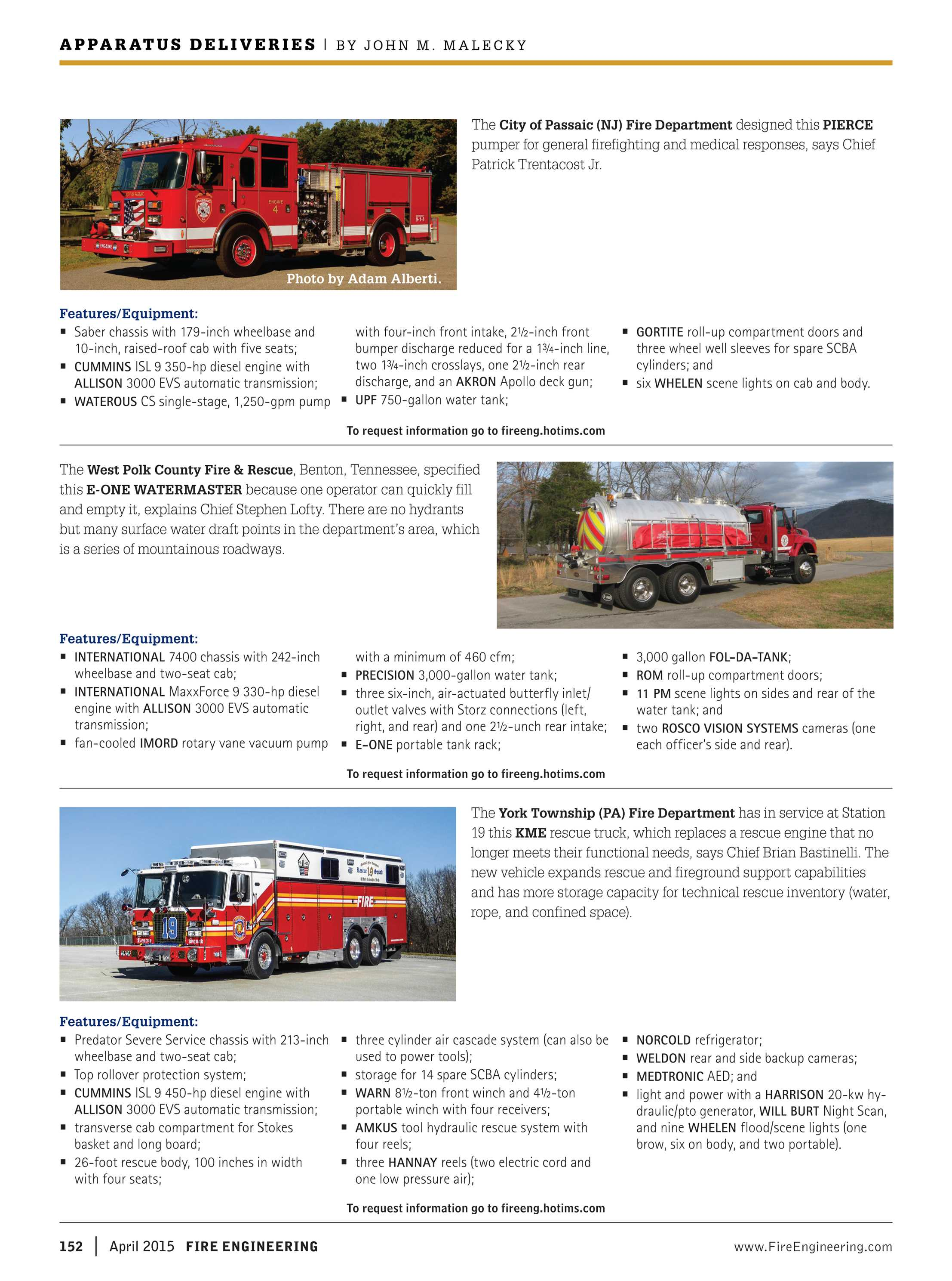 Fire Engineering - April 2015 - page 152