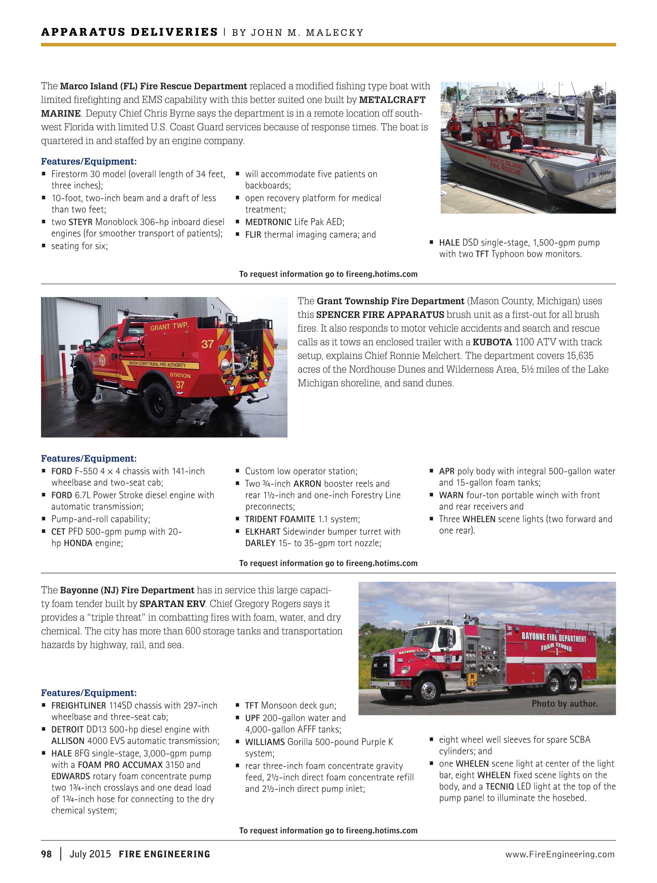 Fire Engineering - July 2015 - page 98
