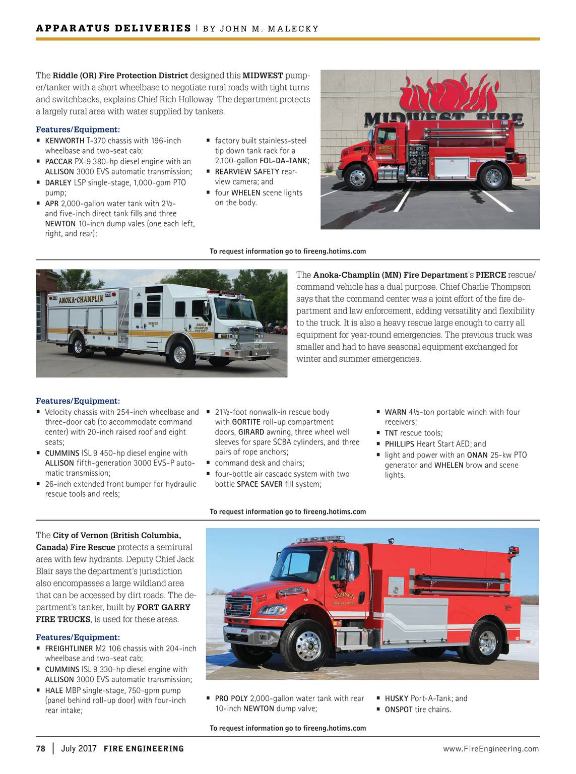 Fire Engineering - July 2017 - page 79