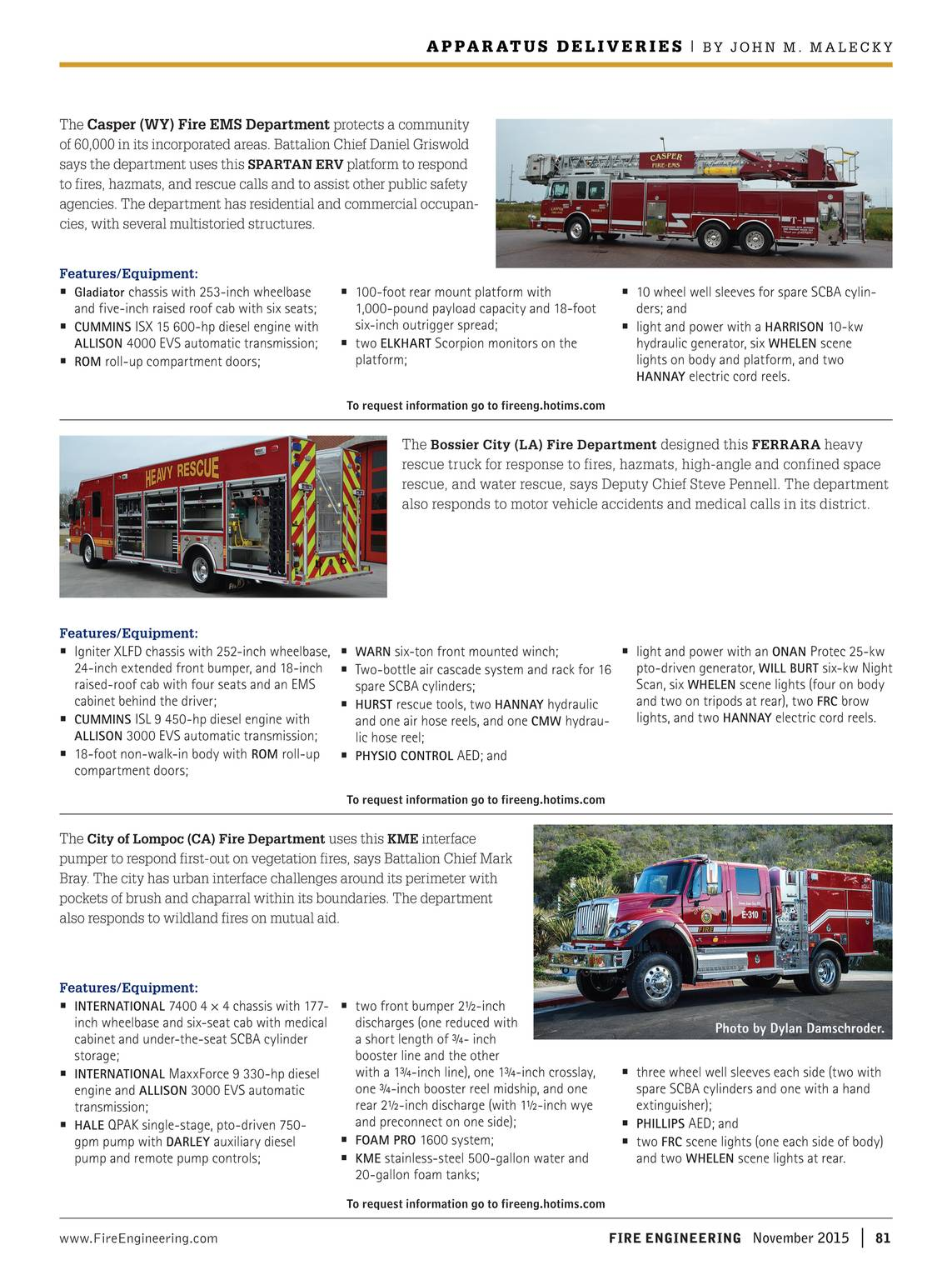 Fire Engineering - November, 2015 - page 80