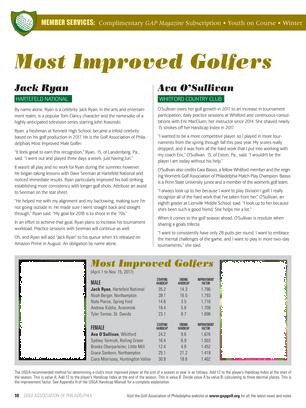 Golf Association Of Philadelphia 2018 Spring Page 10 11