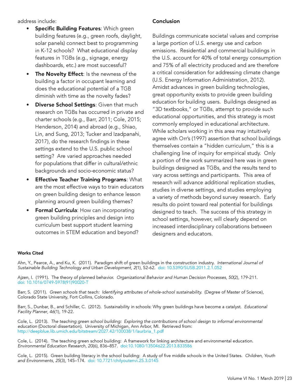 Green Schools Catalyst Quarterly - March 2019 - page 24