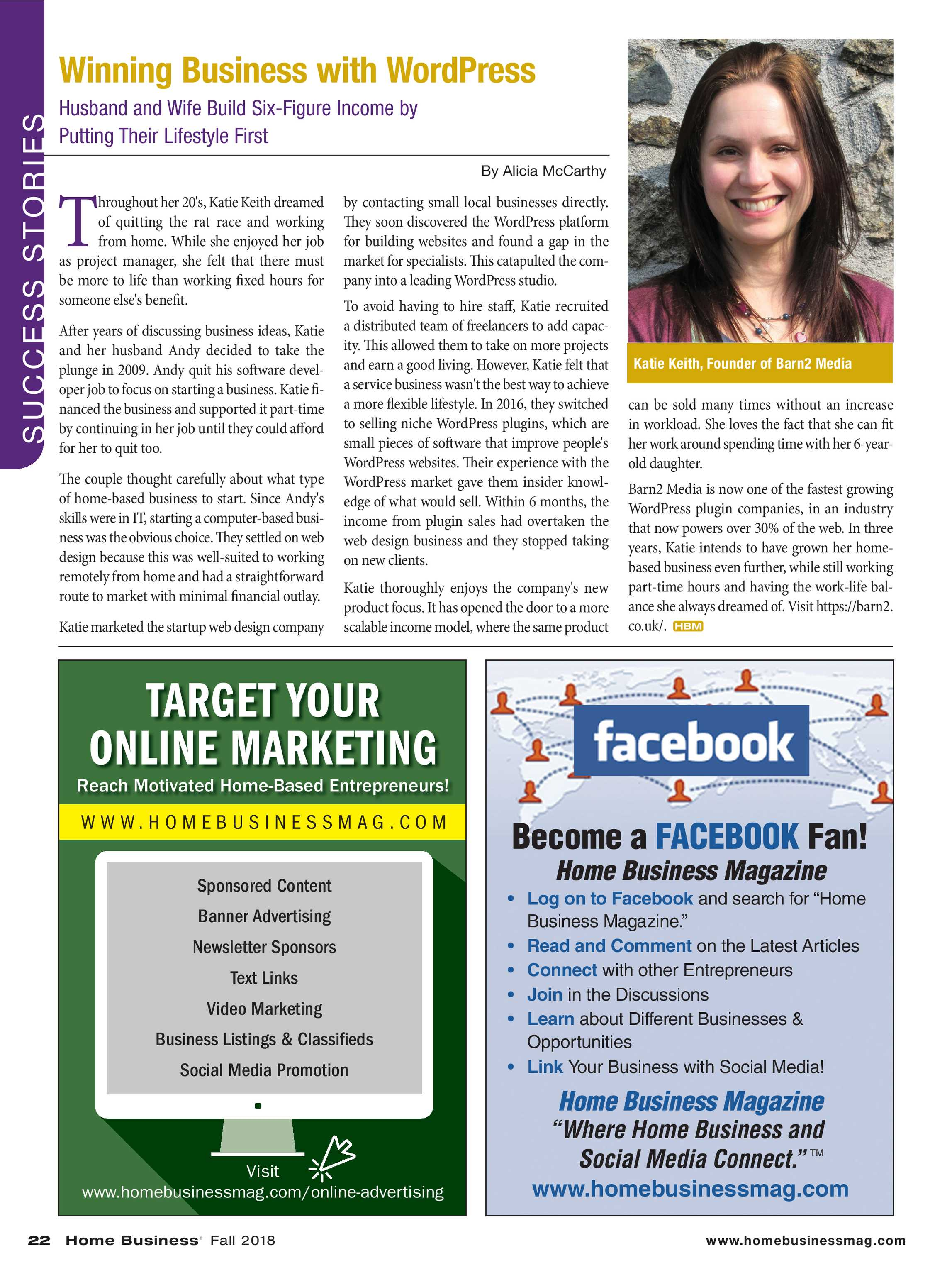 Home Business Magazine - Fall 2018 - page 22