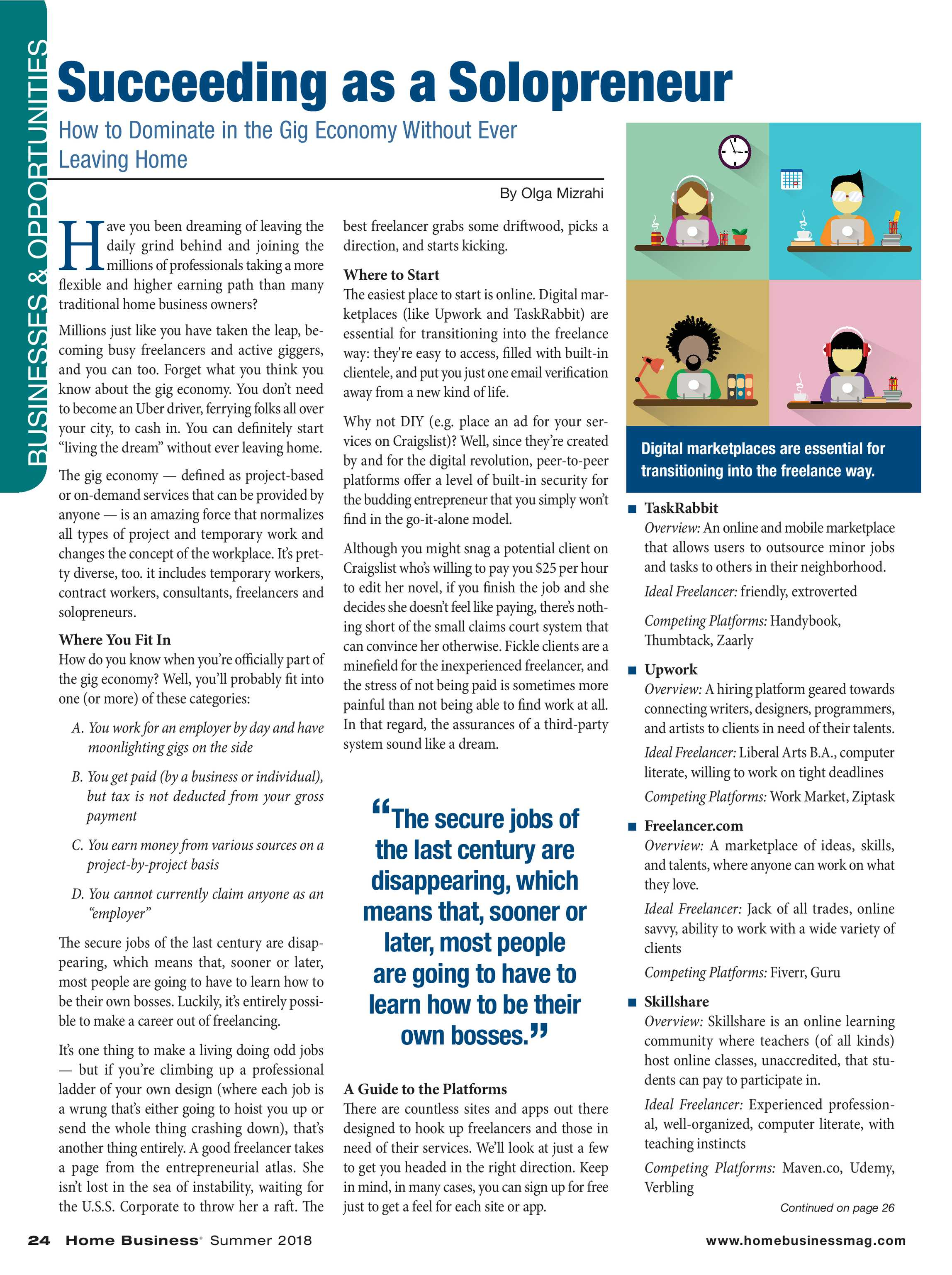 Home Business Magazine - Summer 2018 - page 24