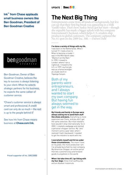 Inc Magazine - February 2010 - Page 12-13