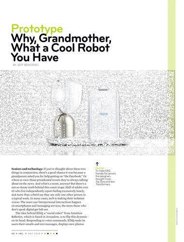 Inc  magazine - May 2018 - Page 42-43