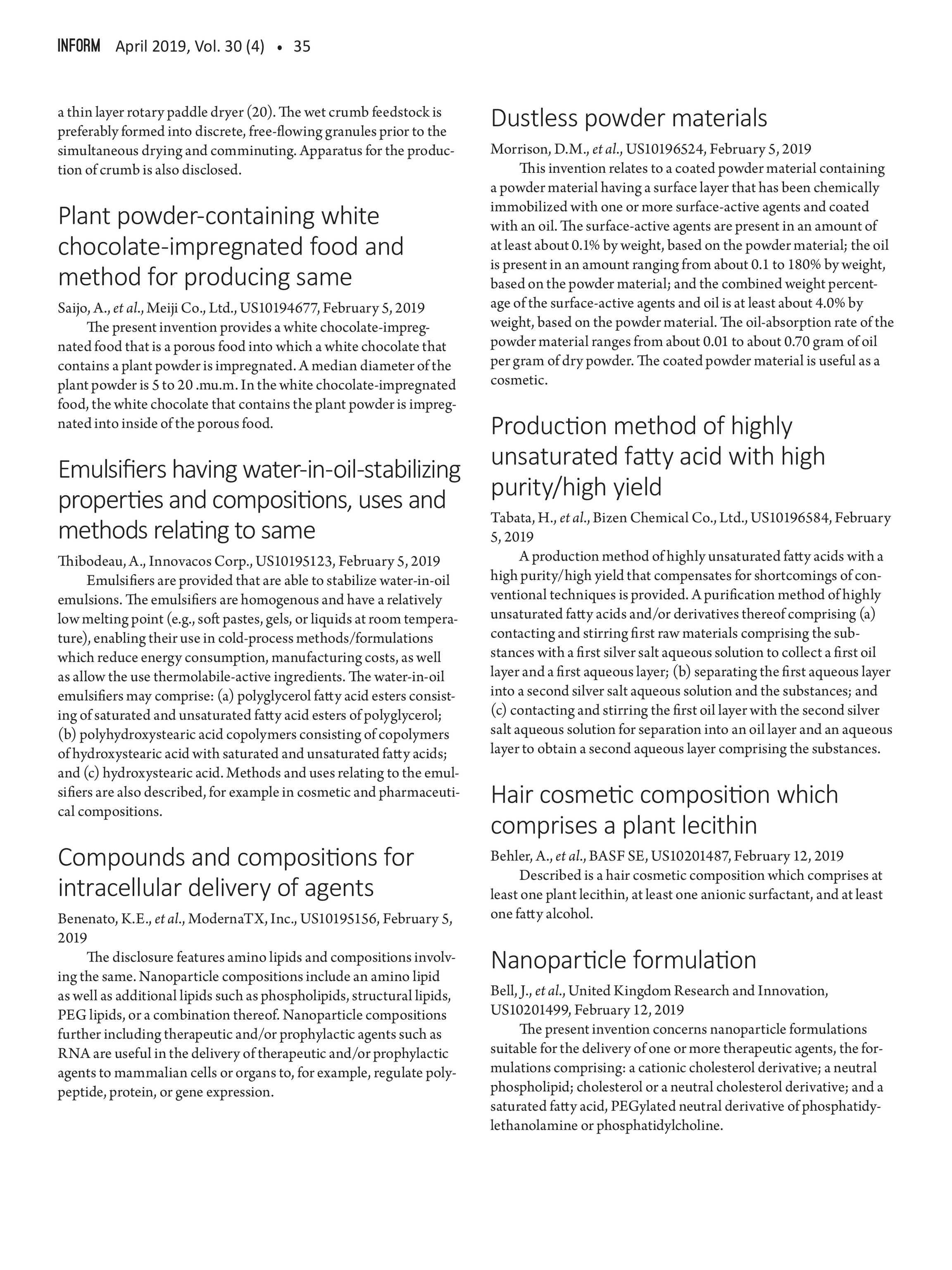 Inform Magazine - April 2019 - page 34