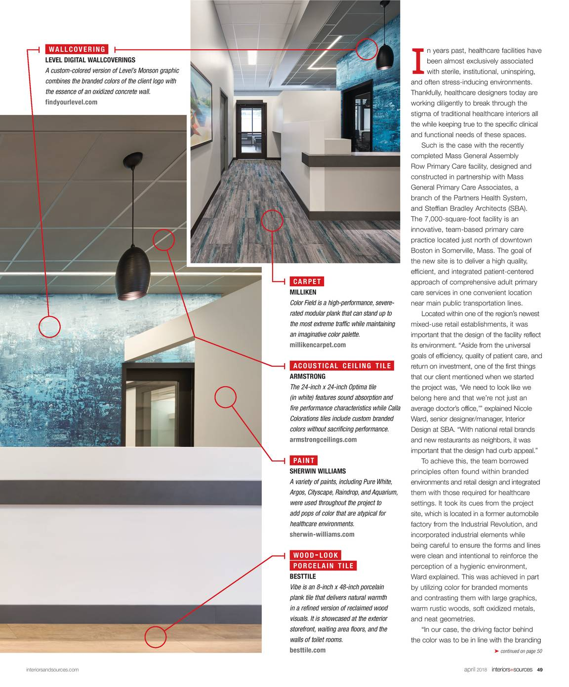 Interiors and Sources - April 2018 - page 49