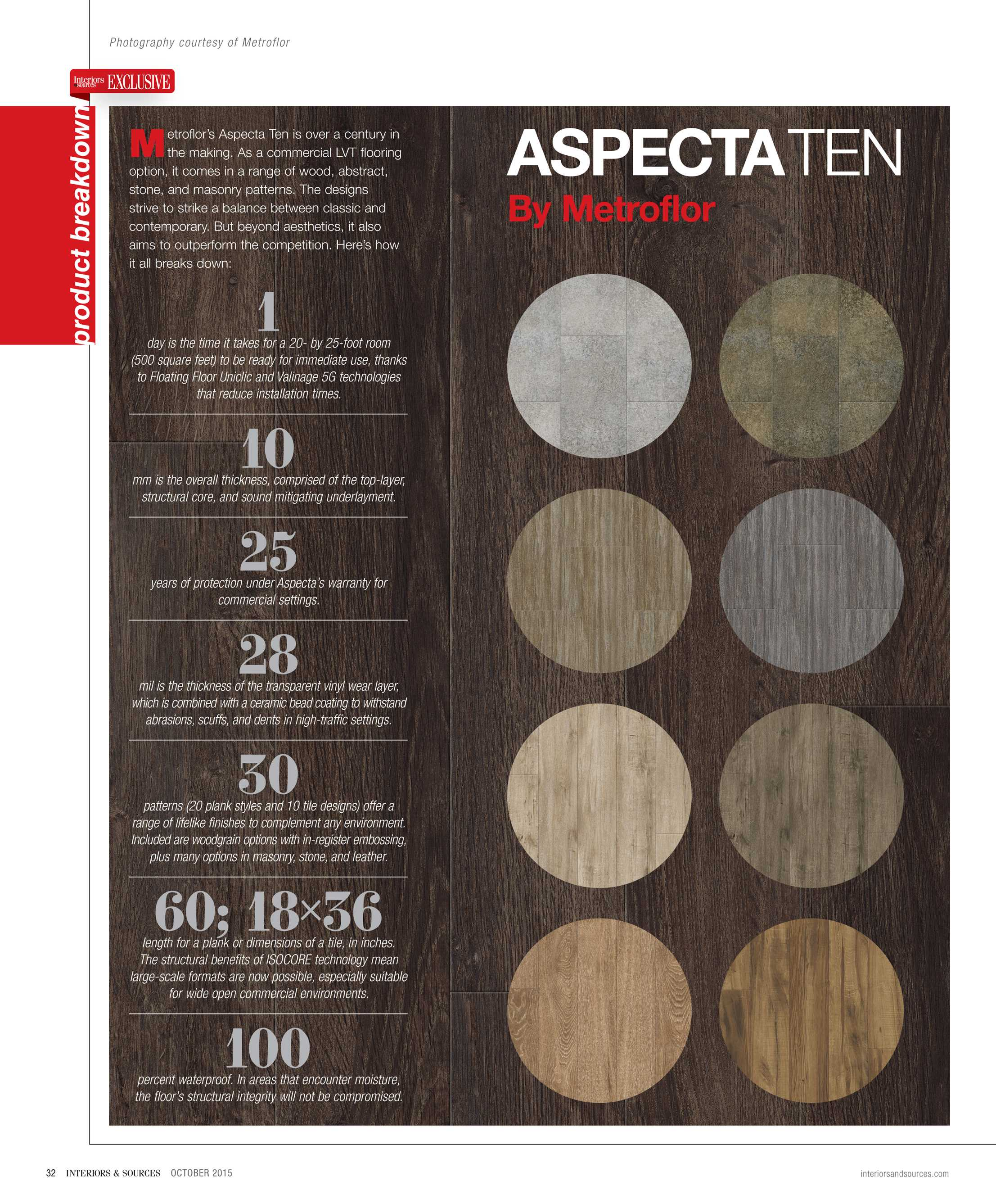 Interiors and Sources - October 2015 - page 32
