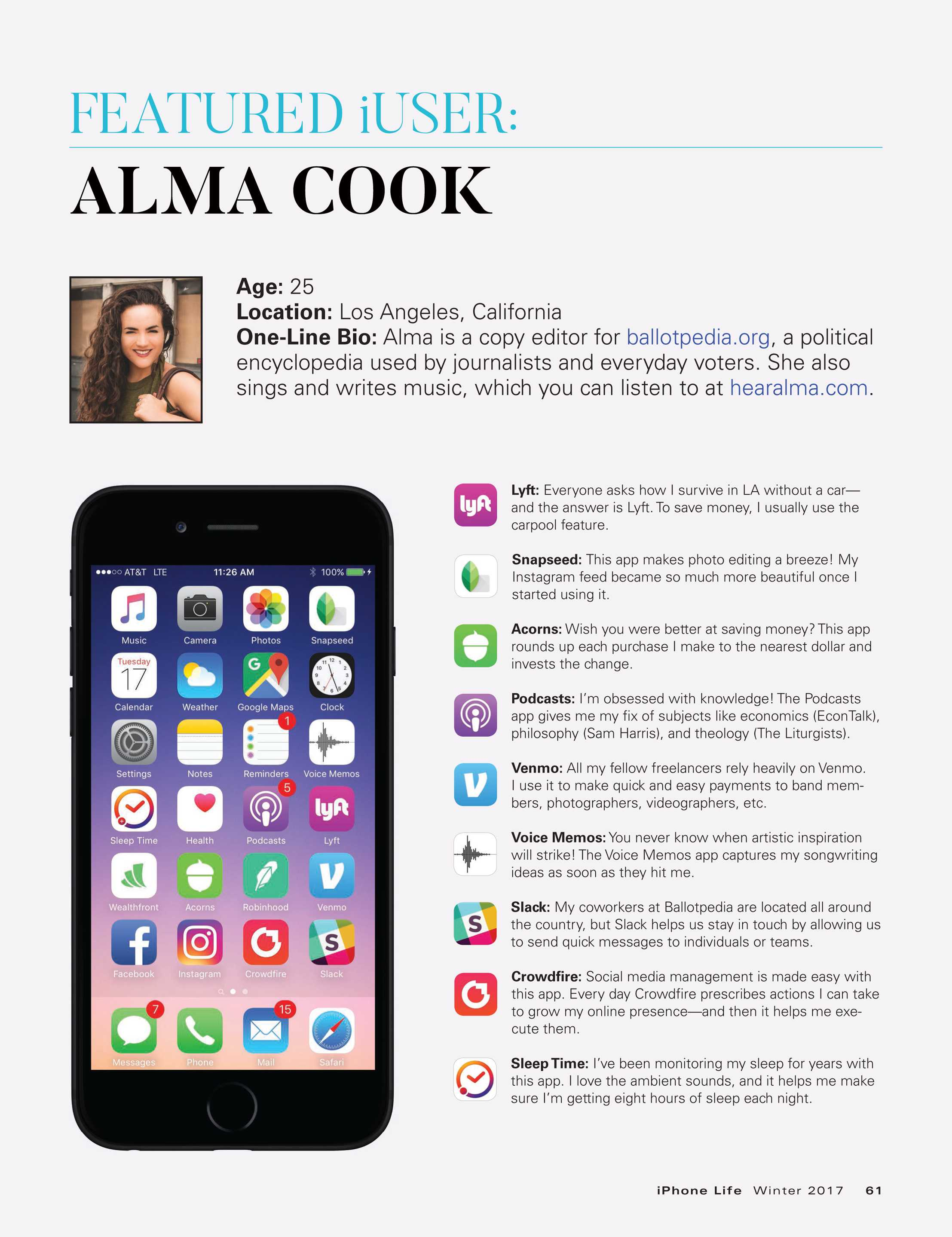 iPhone Life - Winter 2017 - page 61