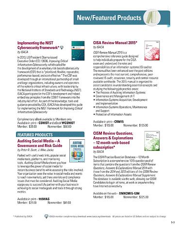 Isaca journal 2015 volume 1 page s2 s3 fandeluxe Gallery