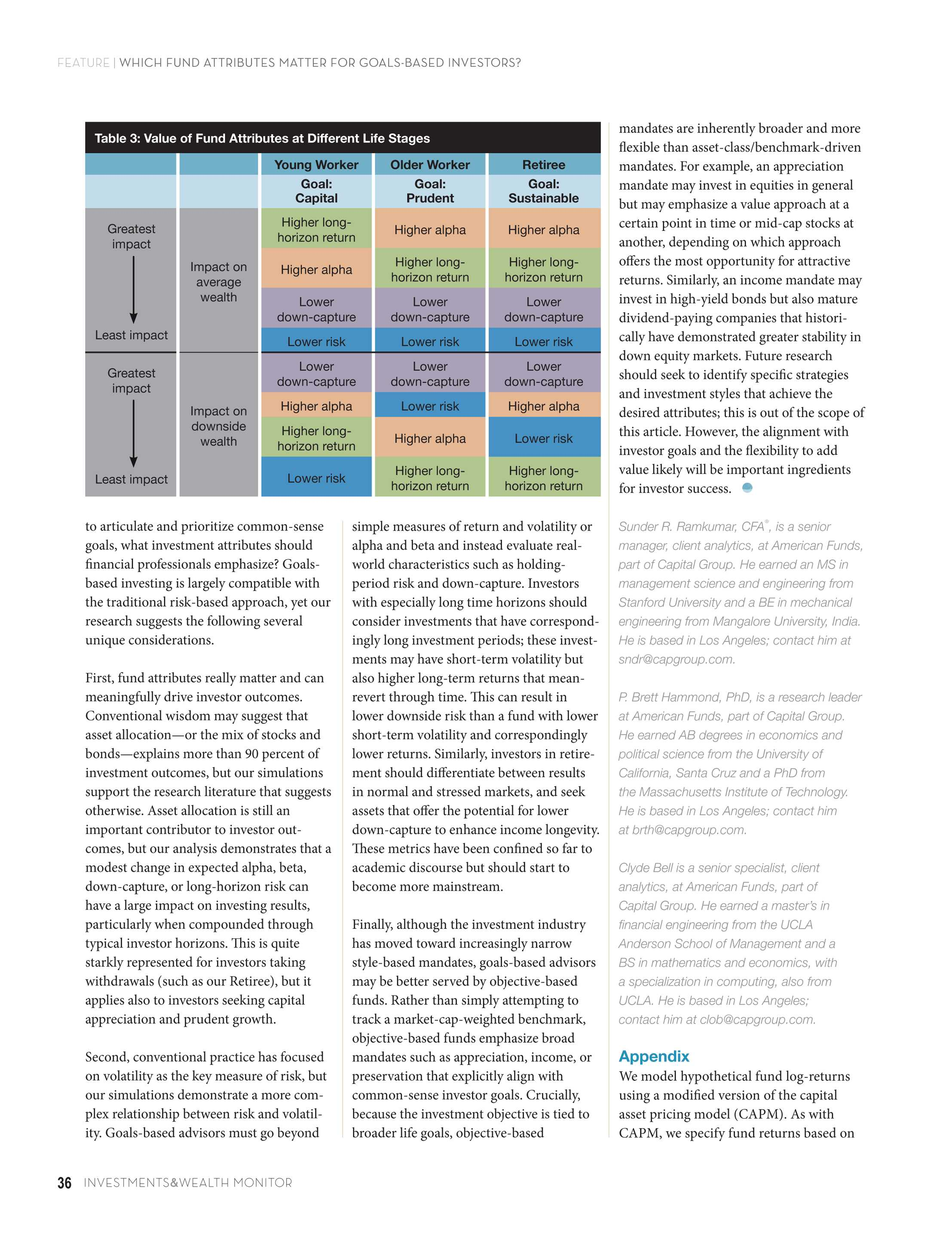 Investments & Wealth Monitor - January/February 2017 - page 36
