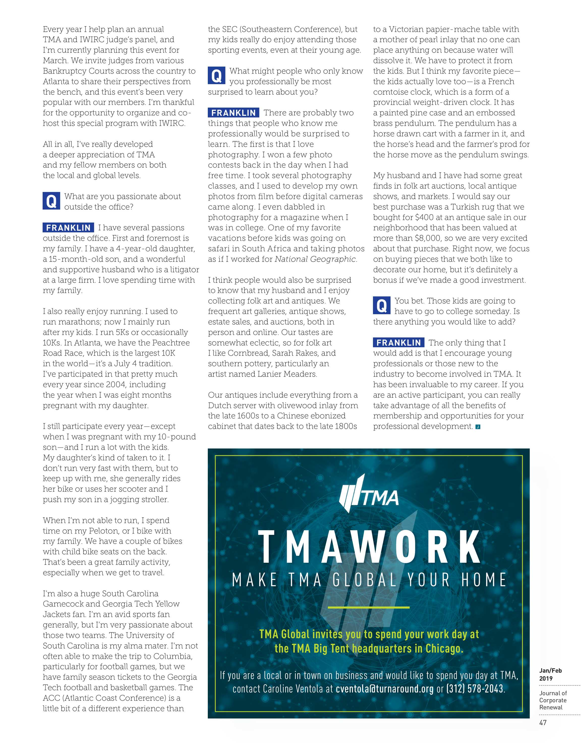 Journal of Corporate Renewal - January/February 2019 - page 48