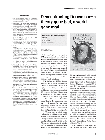 Journal Of Creation 2018 Volume 32 Issue 3 Page 25