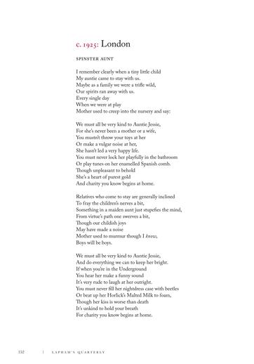 We Must All Be Very Kind to Auntie Jessie Lyrics