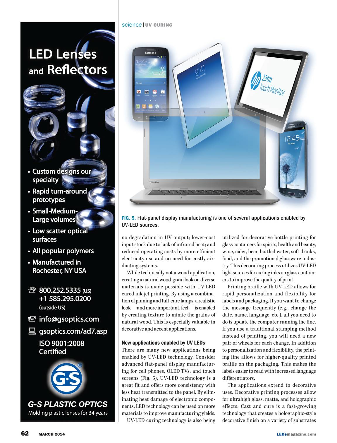 LEDs Magazine - March 2014 - page 63