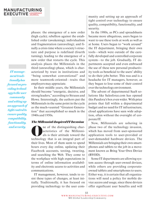Manufacturing Executive Leadership Journal - July 2012