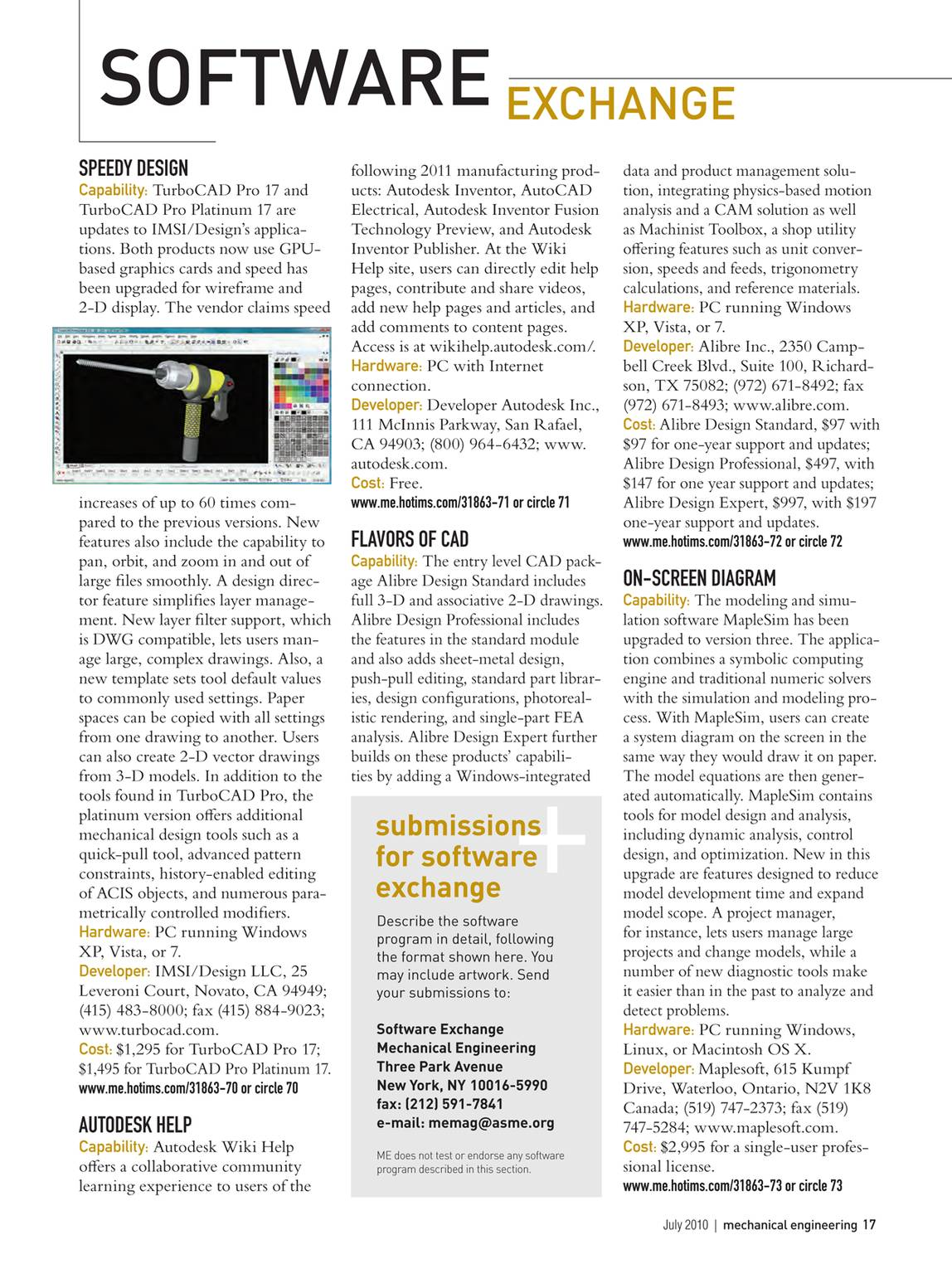 Mechanical Engineering July 2010 Page 17