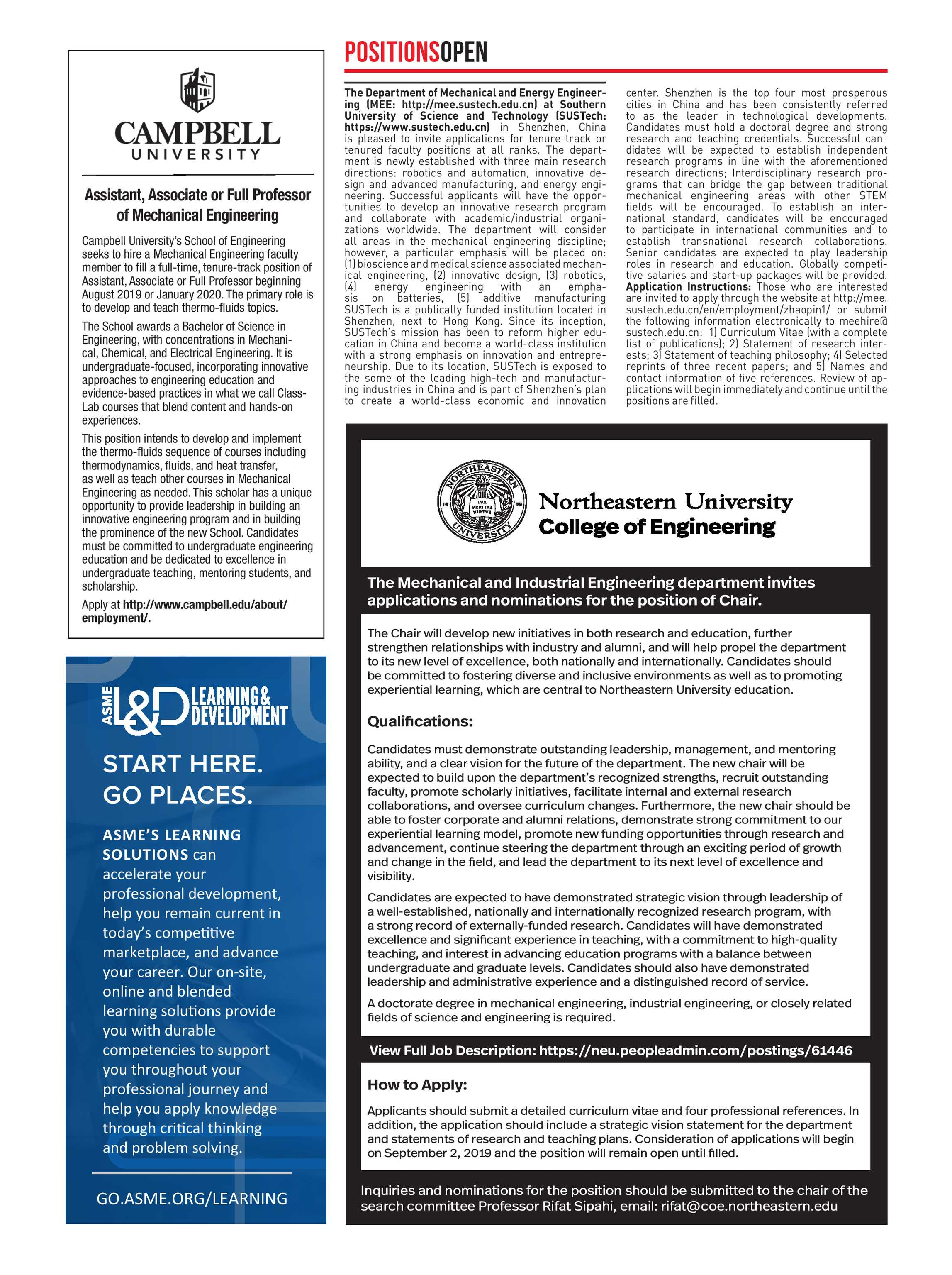 Mechanical Engineering Magazine - August 2019 - page 58