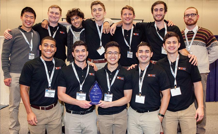 Mechanical Engineering Magazine - February 2019 - Students