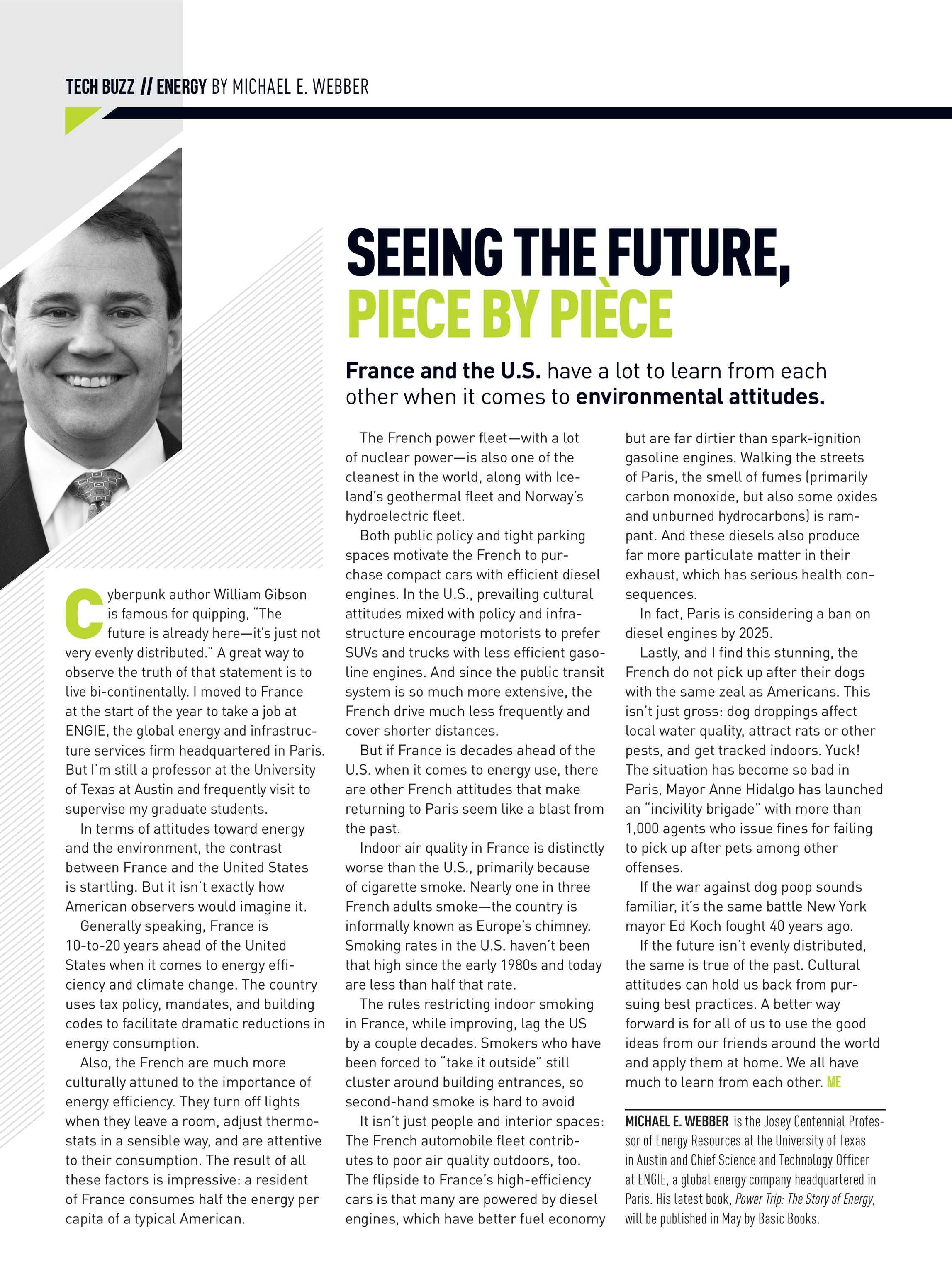Mechanical Engineering Magazine - May 2019 - page 16
