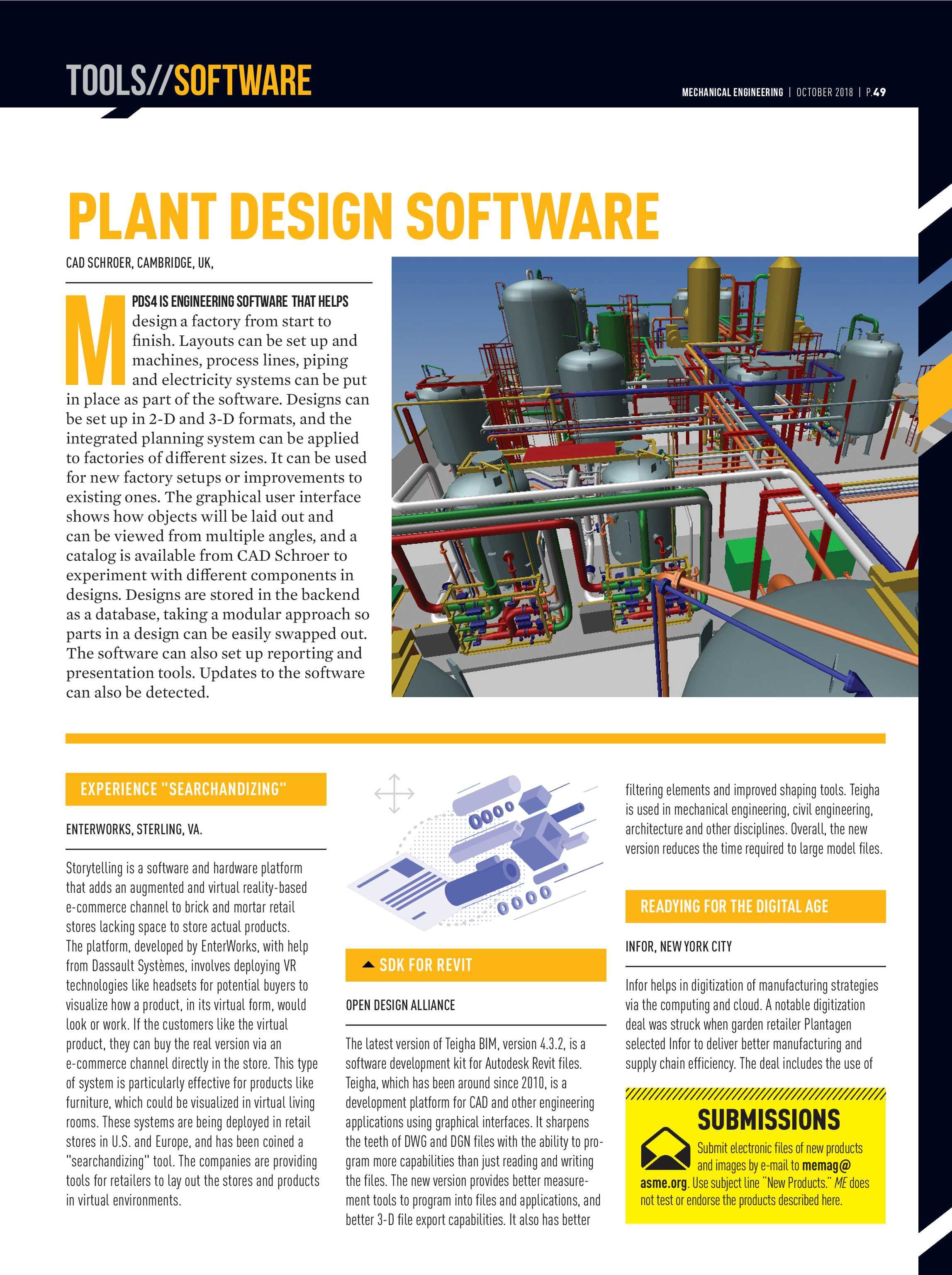 Mechanical Engineering Magazine - October 2018 - page 49