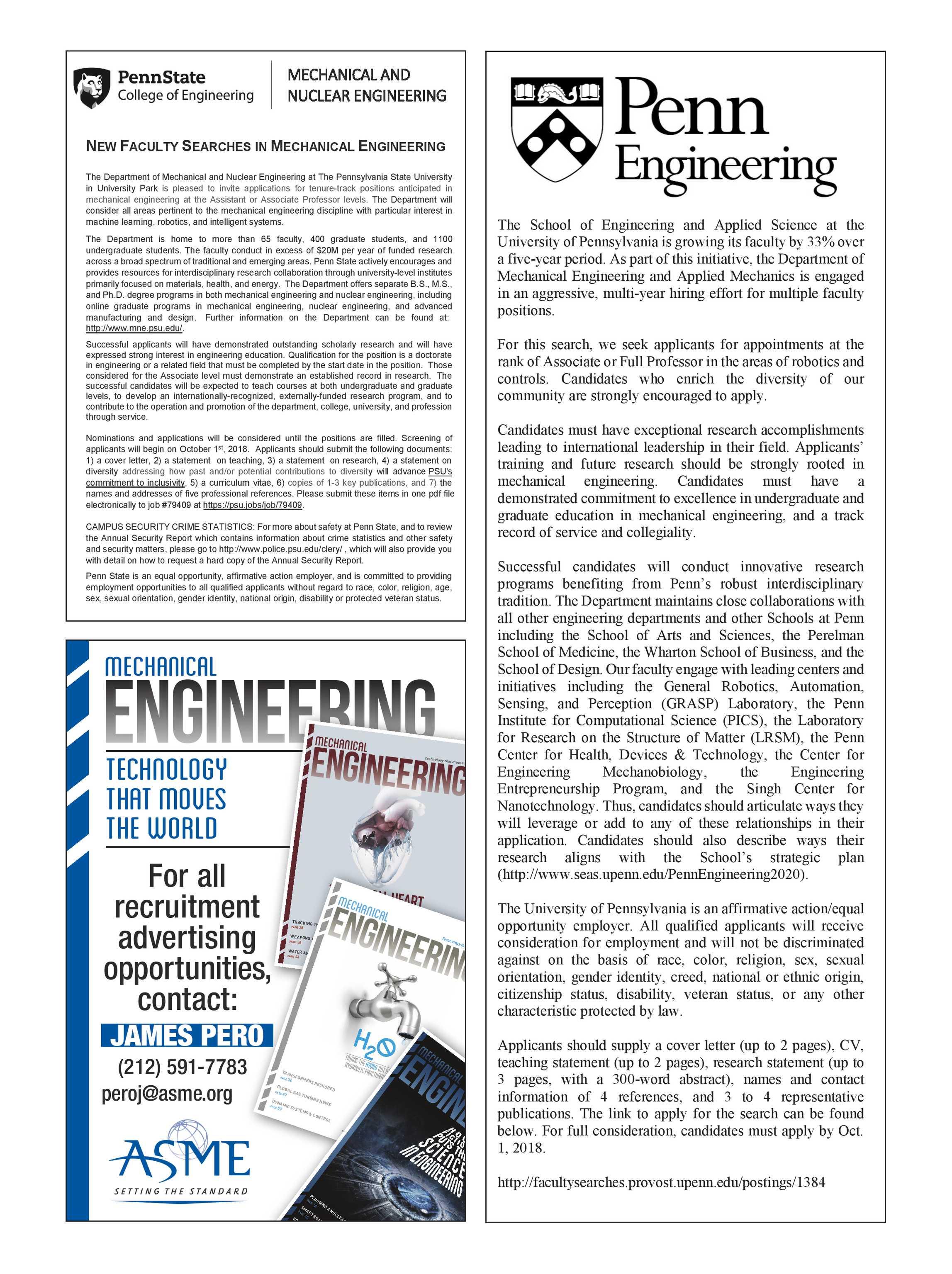 mechanical engineering magazine september 2018 page 63