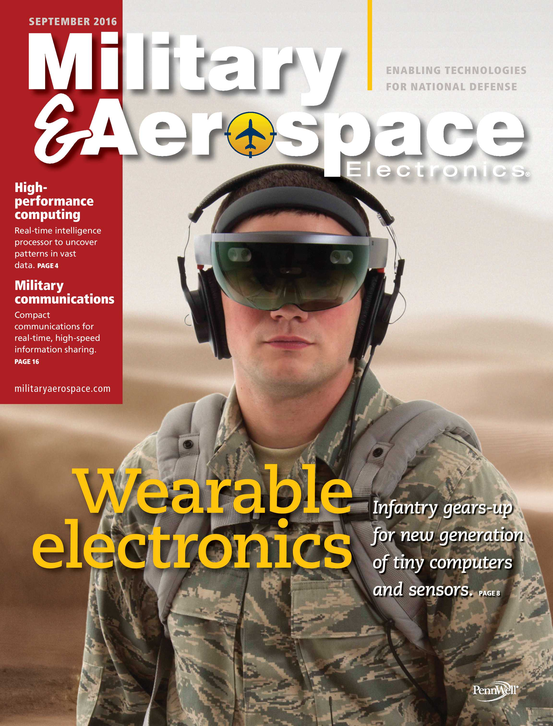 Military & Aerospace Electronics - September 2016 - page Cover
