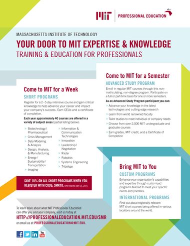 MIT Sloan Management Review - Winter 2014 - Page 34-35