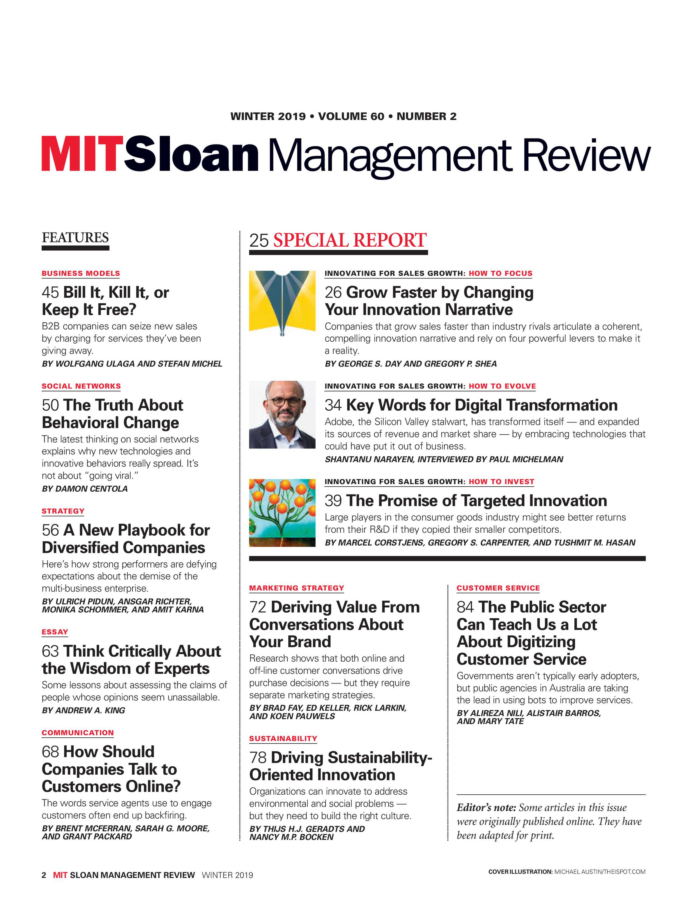 MIT Sloan Management Review - Winter 2019 - page 3