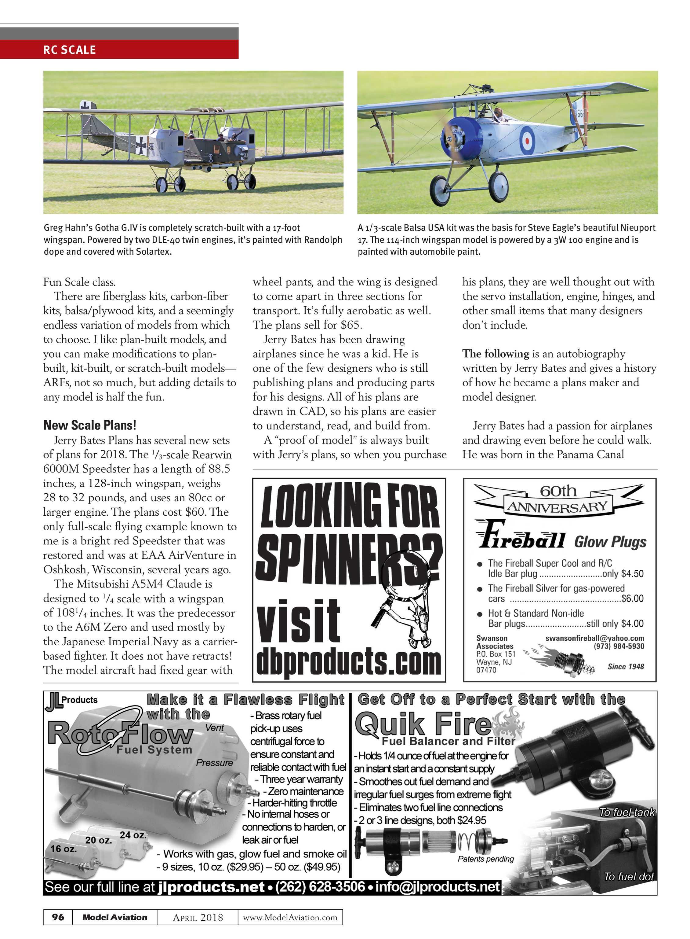 Model Aviation - April 2018 - page 95
