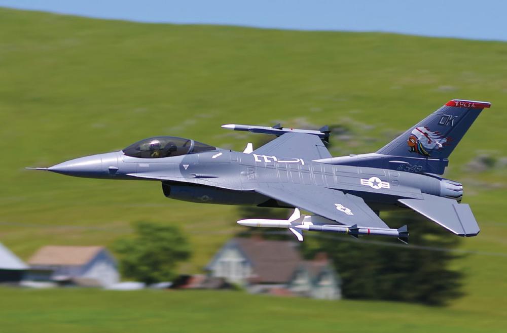 Model Aviation - August 2017 - The popular fighter jet gets
