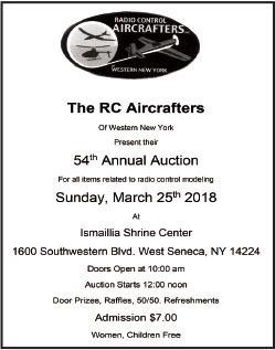 Model Aviation - February 2018 - sanctioned event calendar