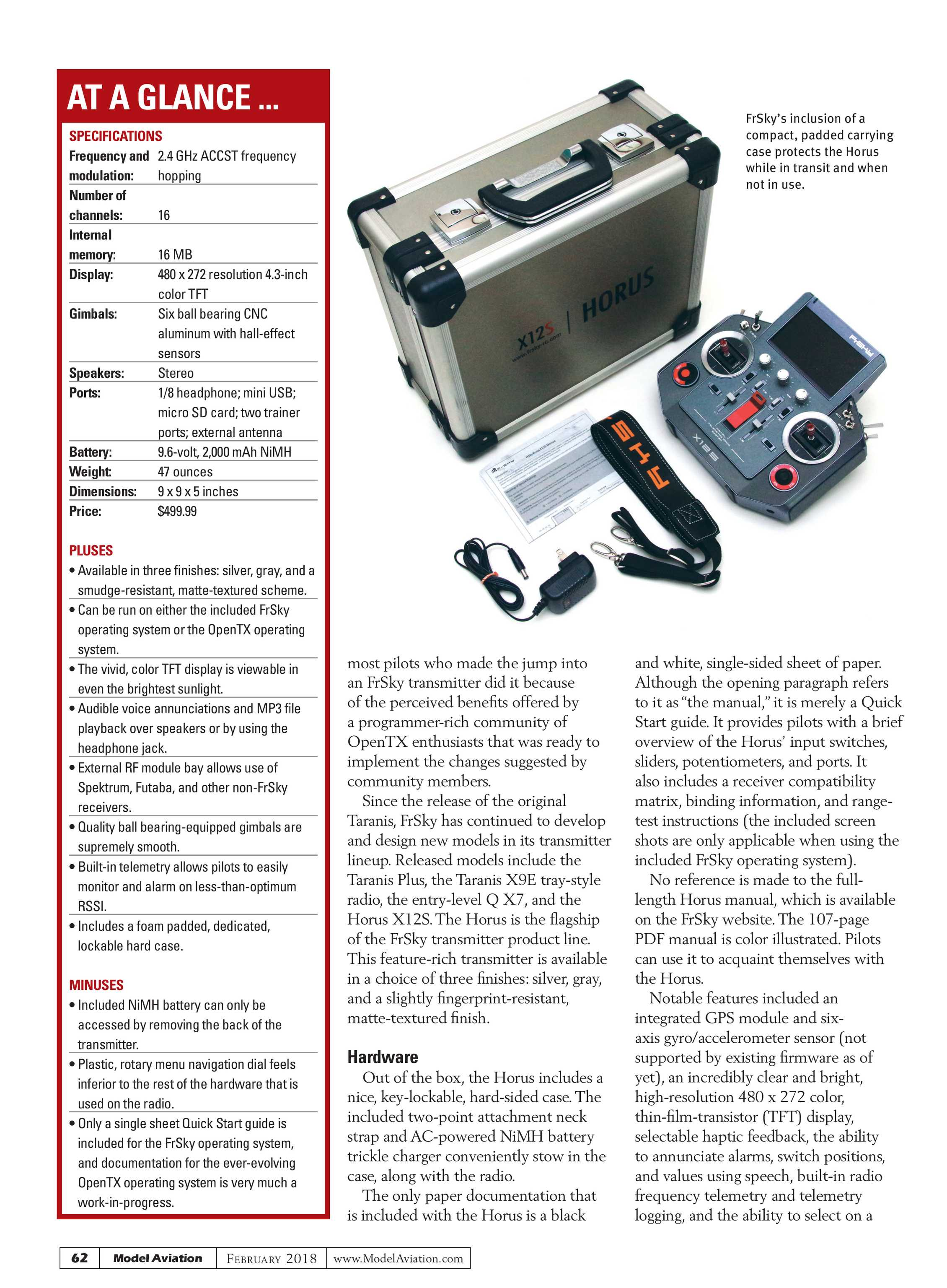 Model Aviation - February 2018 - page 61