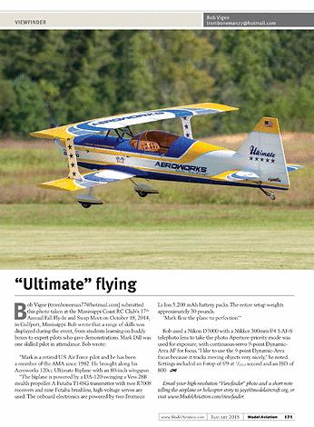 Model Aviation January 2015
