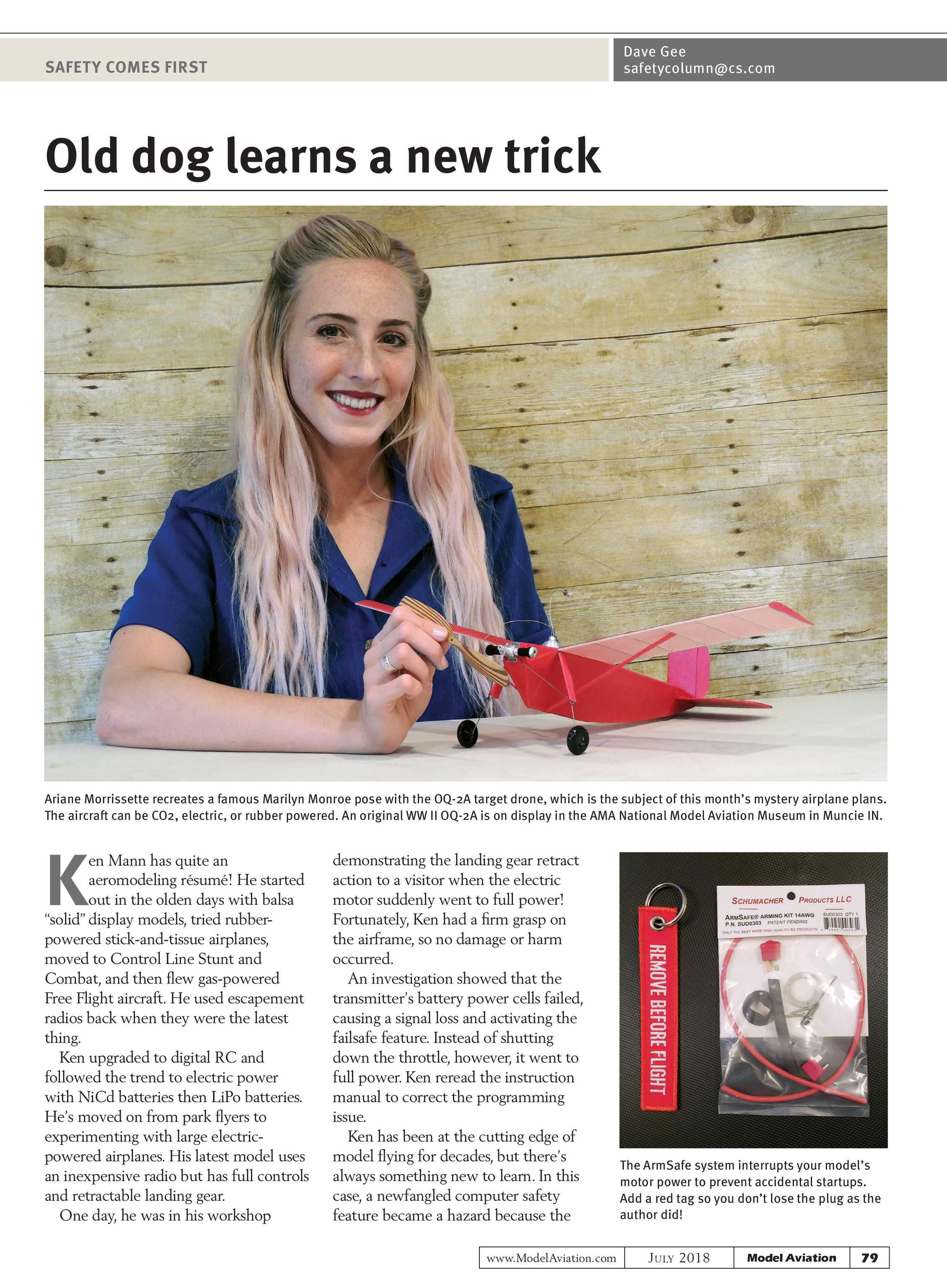 Model Aviation - July 2018 - page 78