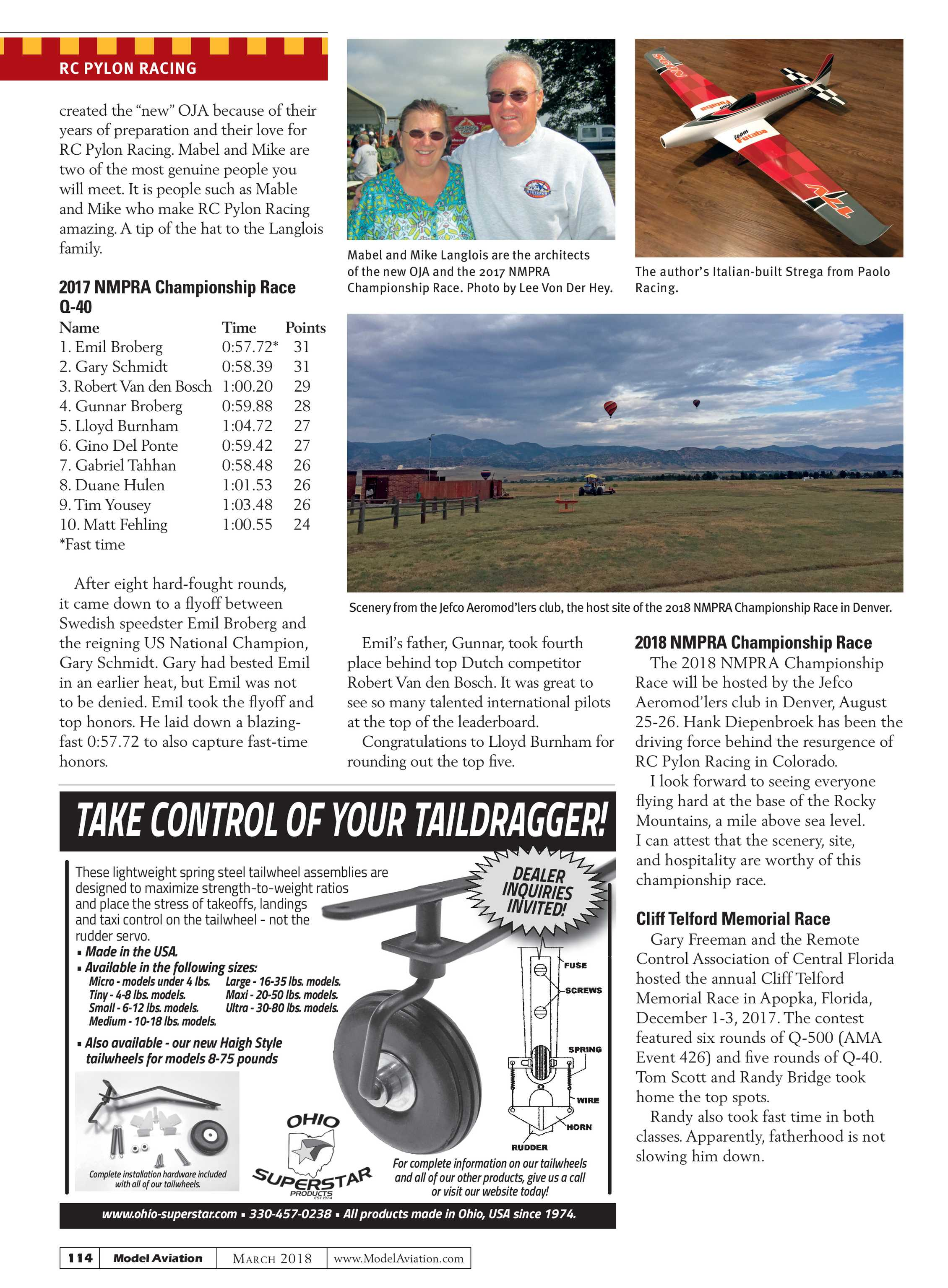 Model Aviation - March 2018 - page 113