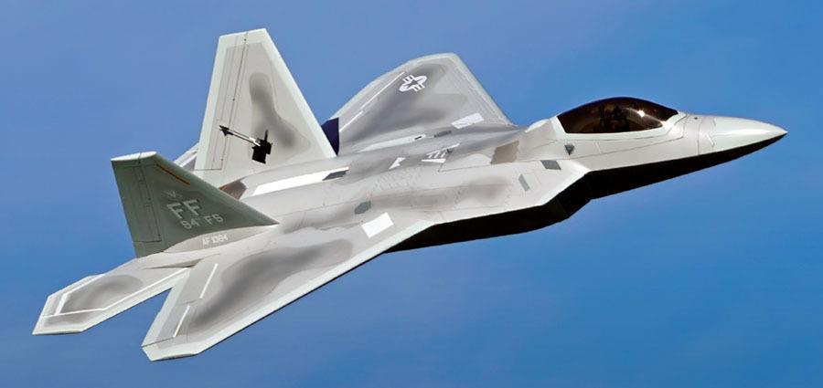 Model Aviation - March 2019 - Freewing F-22 Raptor 90MM EDF Jet