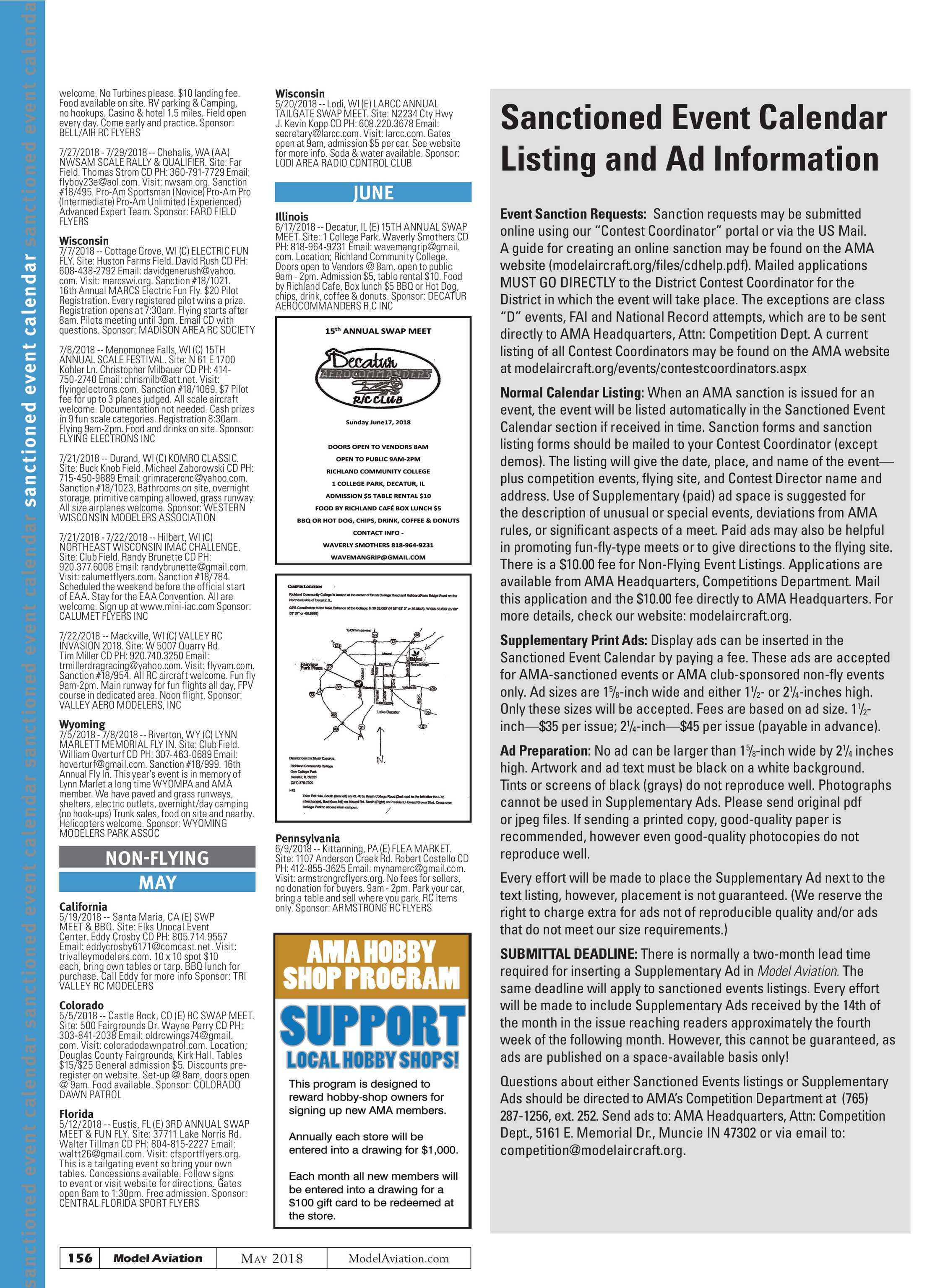 Model Aviation - May 2018 - page 157