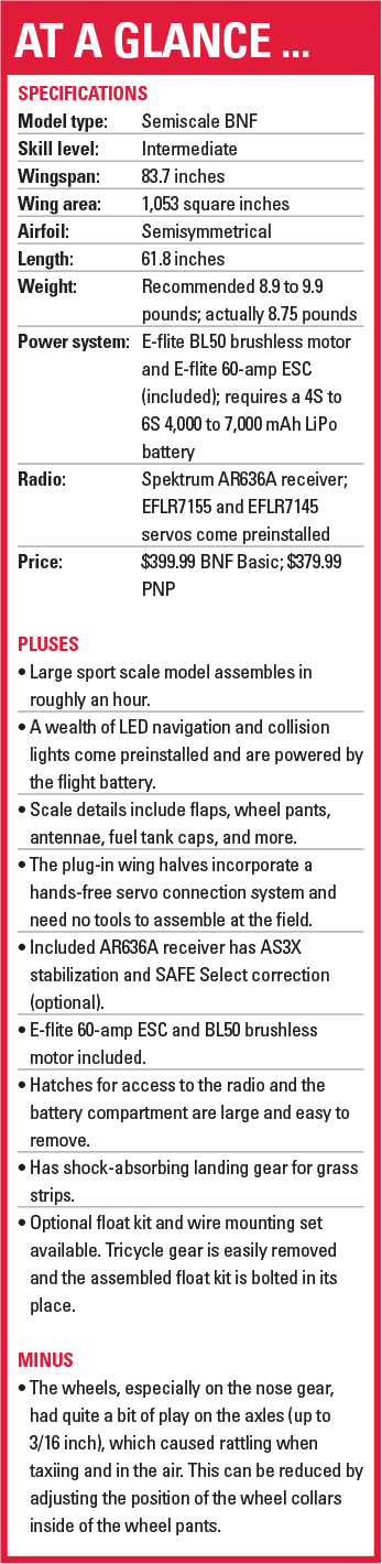 Model Aviation - November 2017 - Fly the popular Navy trainer