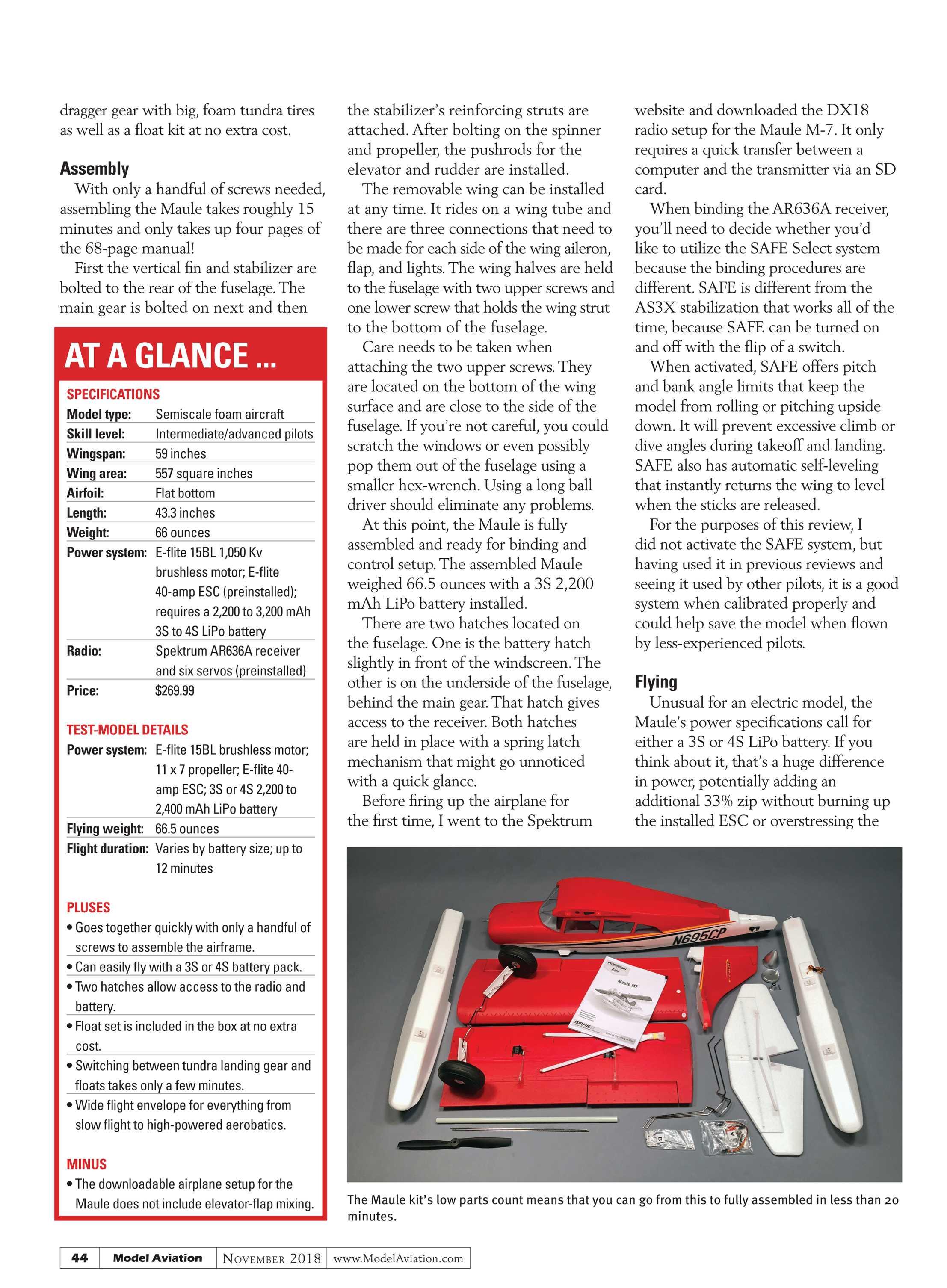 Model Aviation - November 2018 - page 43